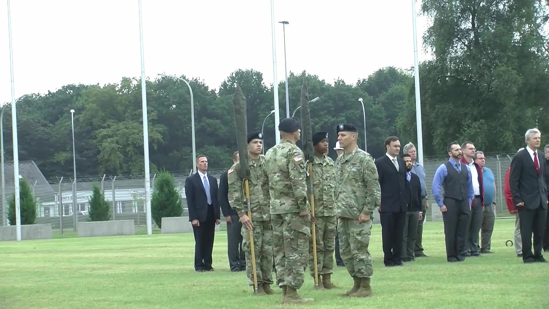 Army color casing ceremony script - Dvids Video Reflagging Ceremony 128th Signal Company Inactivation Network Enterprise Center Belgium Activation