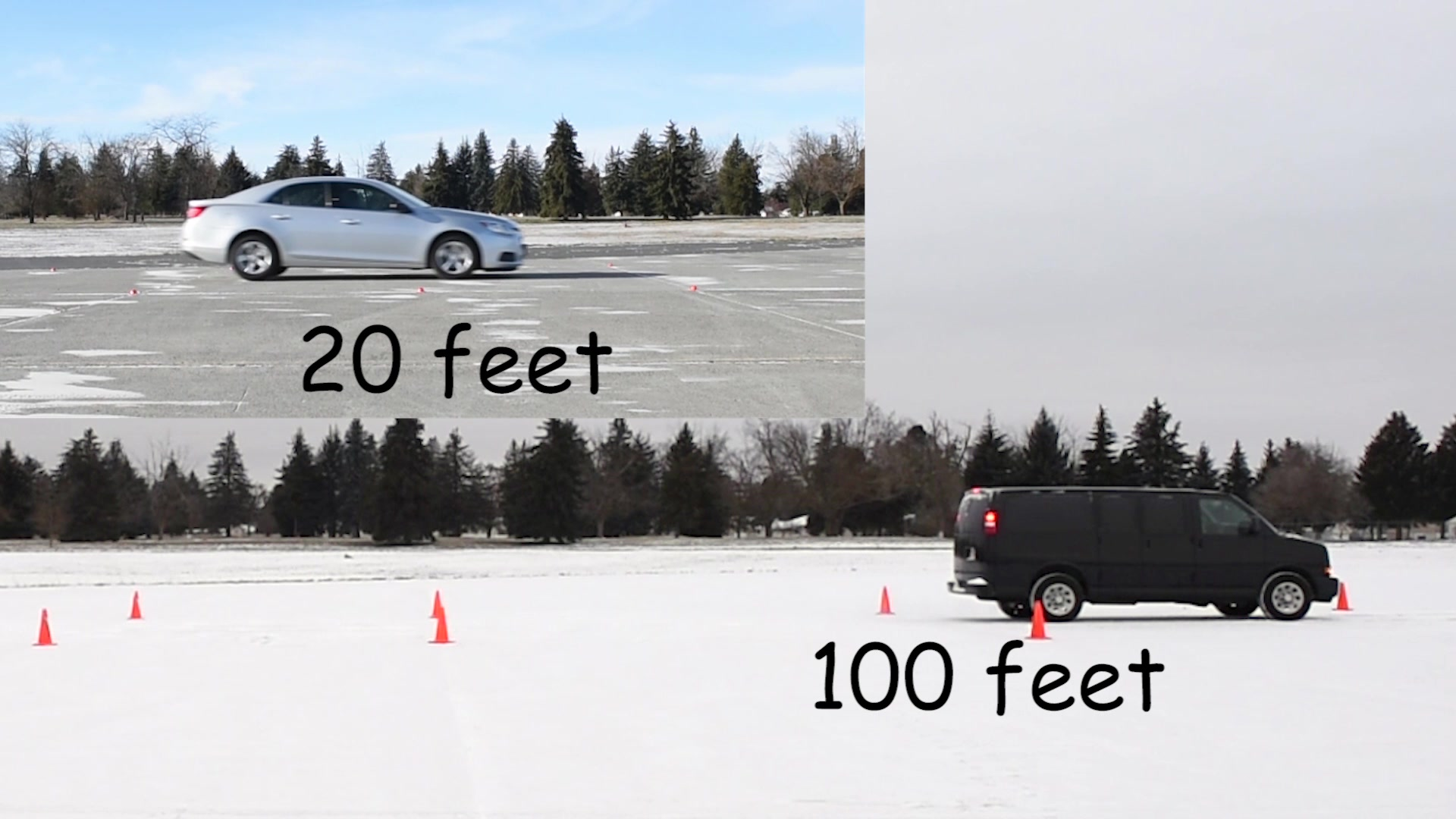 92nd Air Refueling Wing Safety Office gives tips on how to safely drive on icy roads during the winter season.