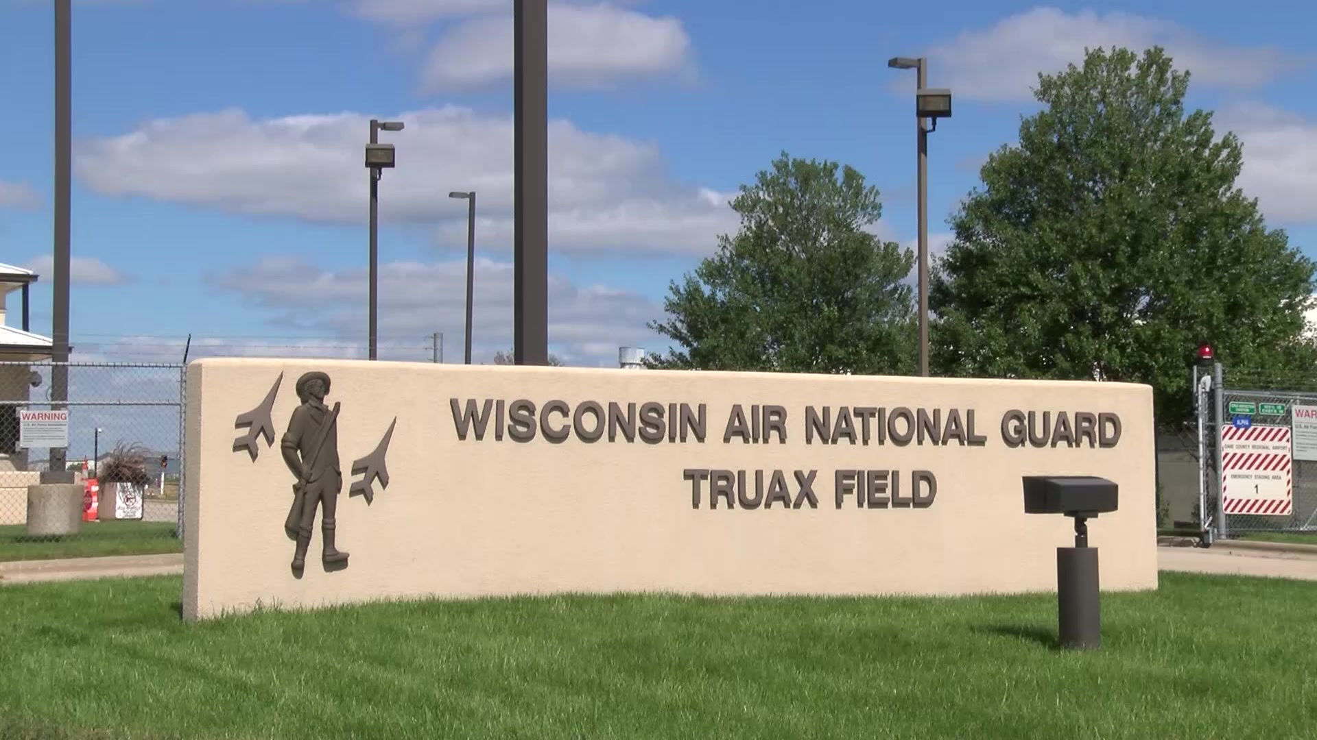 DVIDS - Video - Wisconsin Air National Guard Truax Field Entrance
