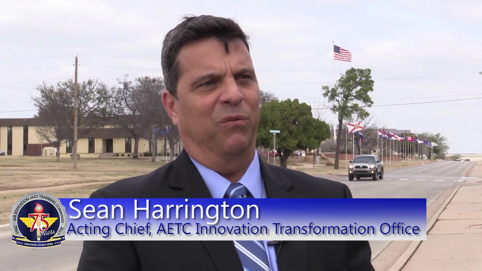 AETC Innovation Challenge Award winners are announced at the 2017 Senior Leader Conference at Sheppard Air Force Base.