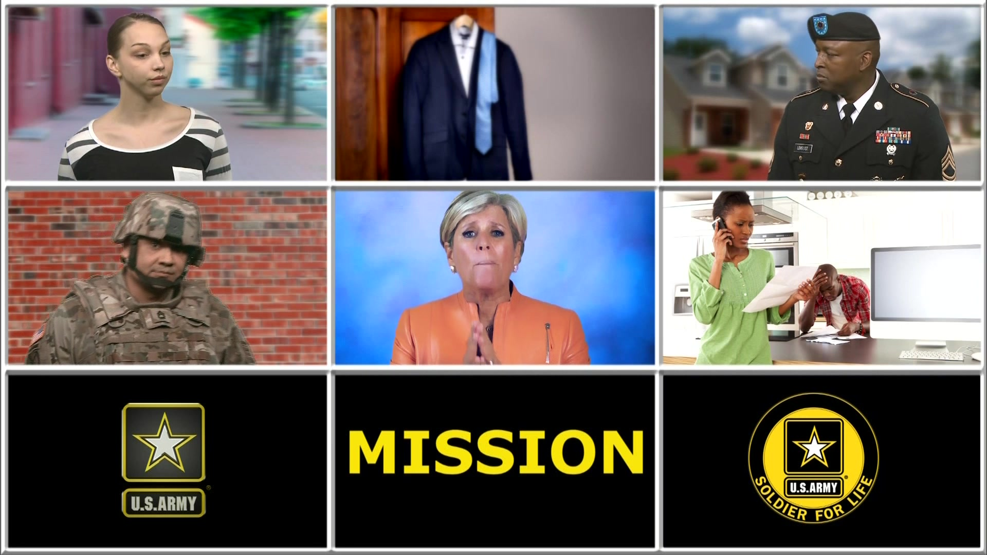 This video features Suze Orman, a personal financial expert, who volunteered her services to help Commanders discuss the importance of Soldiers and their Families taking charge of their personal finances whether in or out of the military. Army Families receive advice on how to ensure they are financially secure and how to best save for retirement in light of the new retirement system scheduled to be implemented in 2018.  Soldiers are encouraged to talk with their Chain of Concern, contact a Financial Counselor, and become familiar with resources like Military OneSource and their Army Community Service center. Produced by LTC Renee D. Russo-Johnson.  Also available in High Definition.