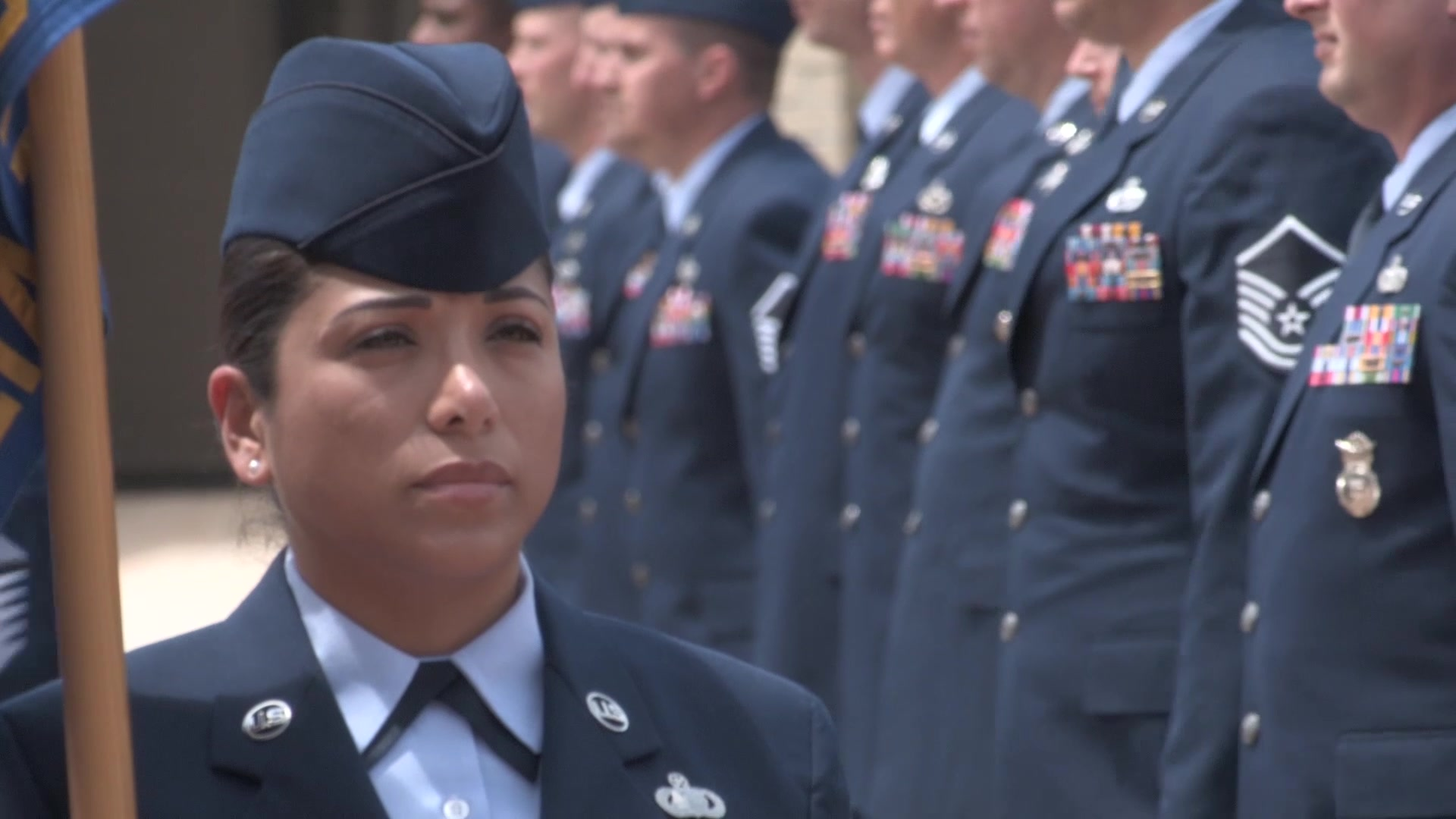 The Air Force Senior Noncommissioned Officer Academy (AFSNCOA) is the third level of enlisted PME. AFSNCOA prepares senior NCOs to lead the enlisted force in the employment of airpower in support of US national security objectives. This video highlights aspects of the course, and shows teamwork between sister service and international partners.