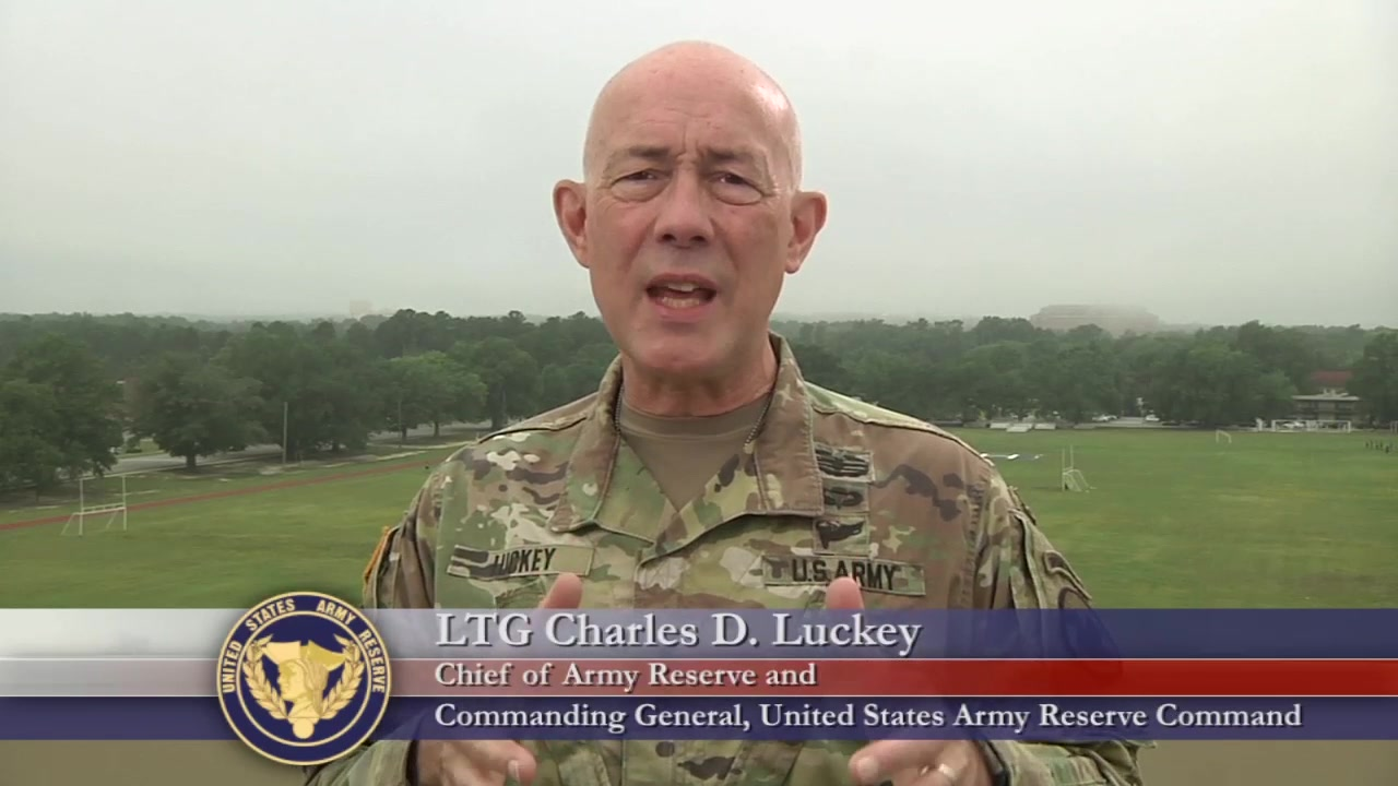 LTG Charles D. Luckey, Chief of Army Reserve and Commanding General, United States Army Reserve Command, talks about treating others with dignity and respect.