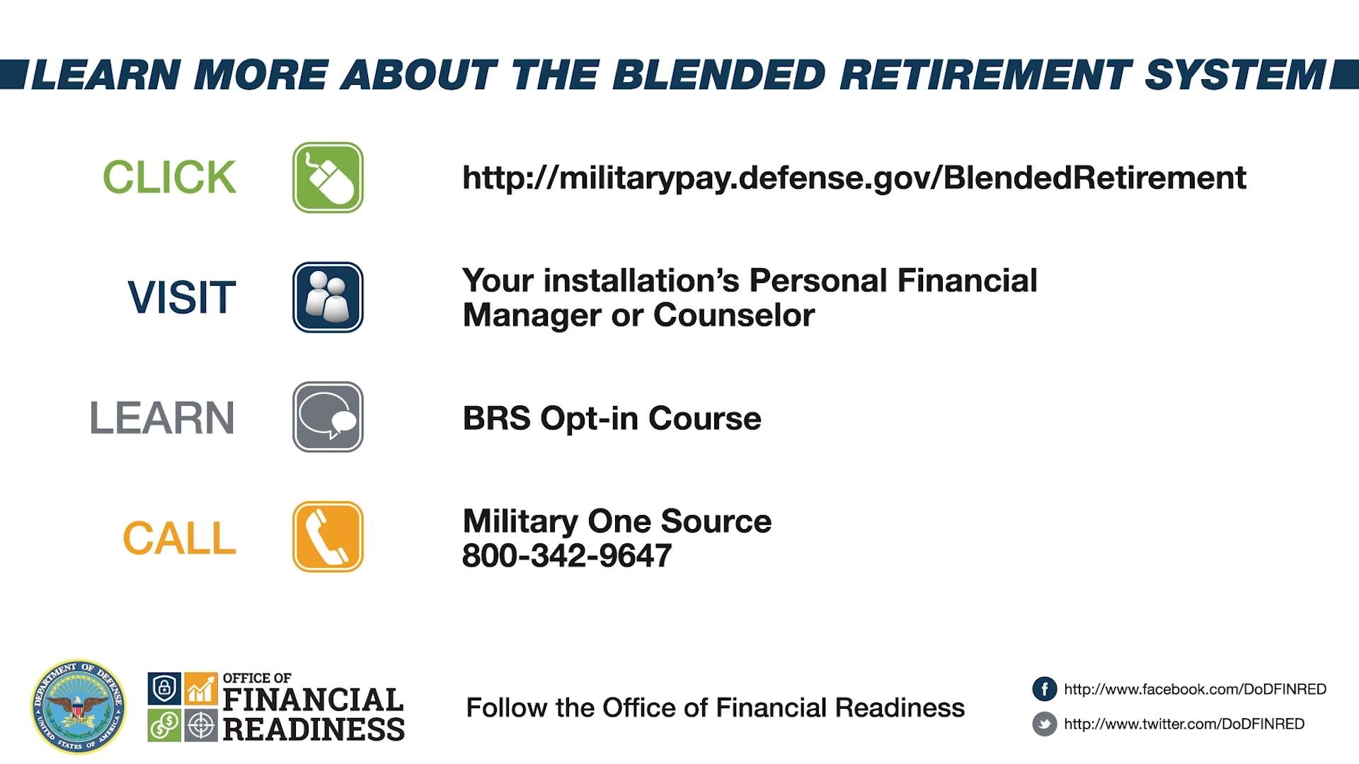 Blended Retirement System Opt-in