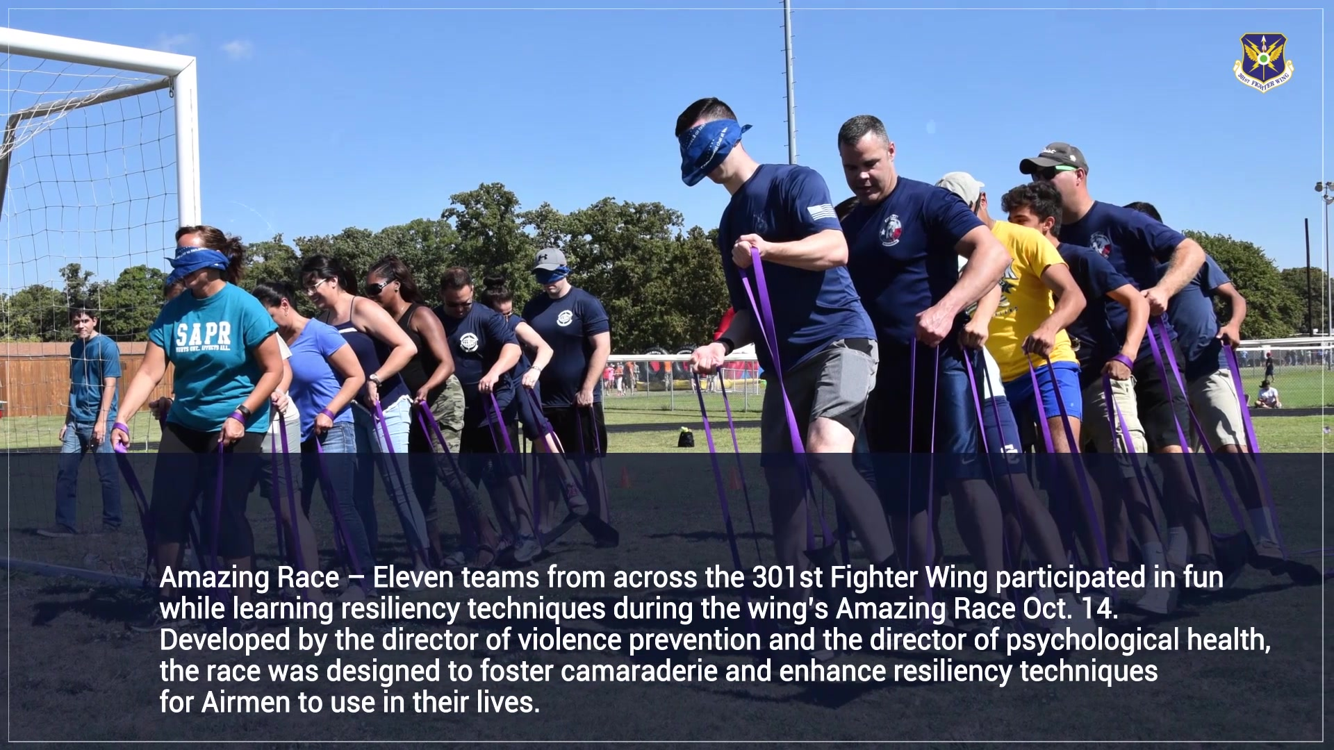 Check out the October Month In Review! This video features photos captured during the wing's Family Day event, the Amazing Race competition, and the Chief's Group golf tournament. Thank you to the over 2,000 friends, families, coordinators, and volunteers that came out to help, support, and enjoy these events.