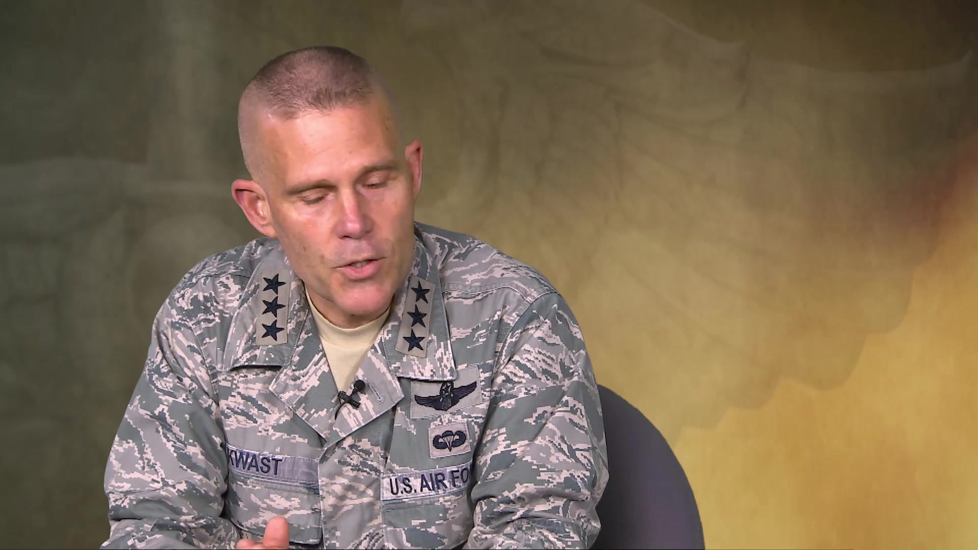 Over the Horizon Interview with LtGen Steven L. Kwast; Commander Air Education and Training Command, Joint Base San Antonio-Randolph and the former Commander of Air University Maxwell AFB. LtGen Kwast gives his perspective on a number of subjects that are affecting us today and in the future.