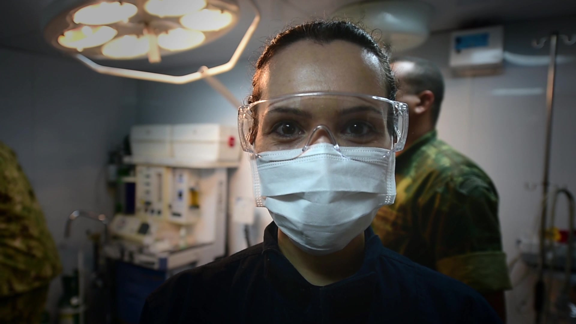 U.S. Navy doctors recently returned from a month-long humanitarian mission along the Amazon River in Brazil.