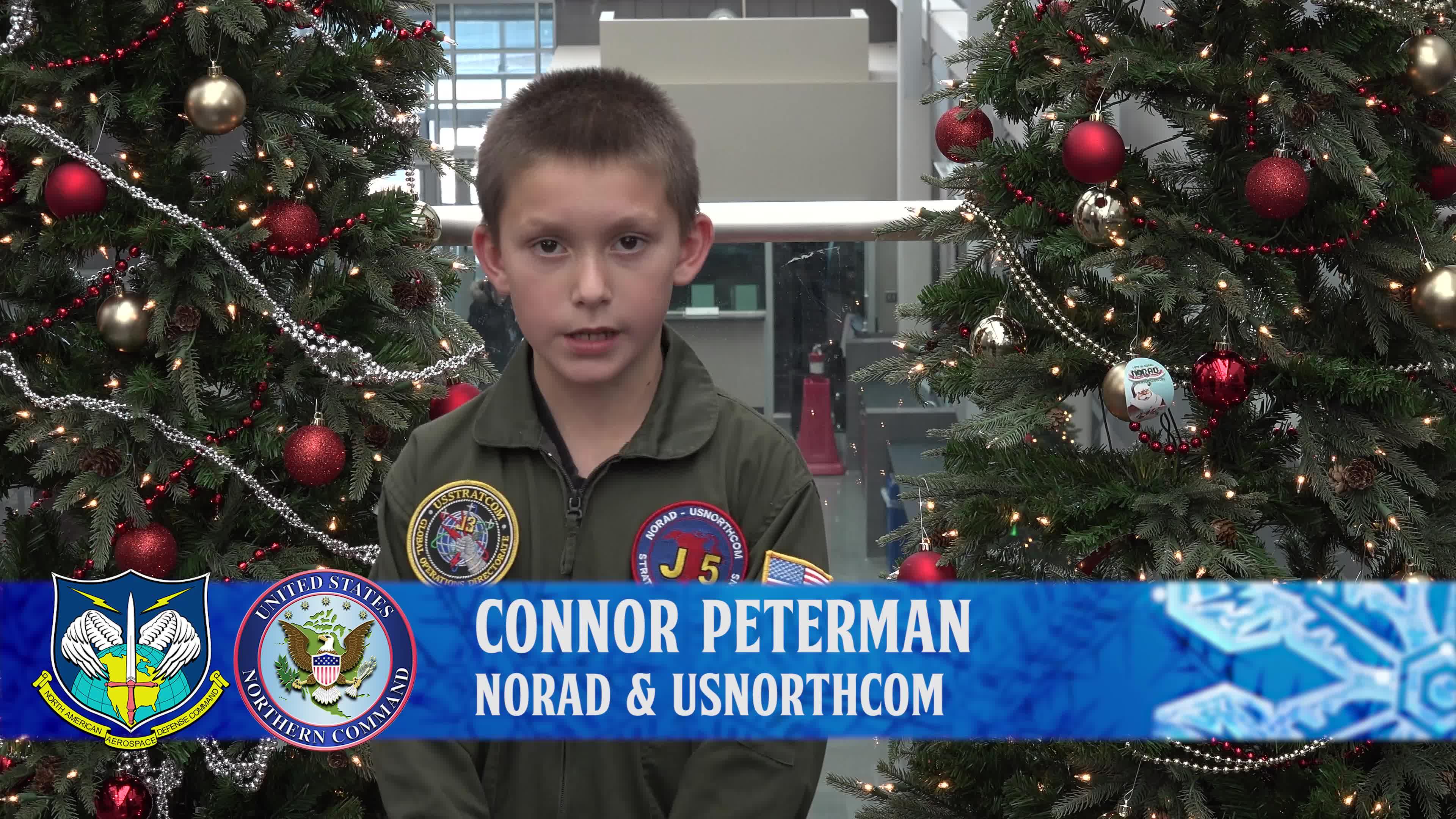 DVIDS - Video - Connor Peterman NORAD Tracks Santa