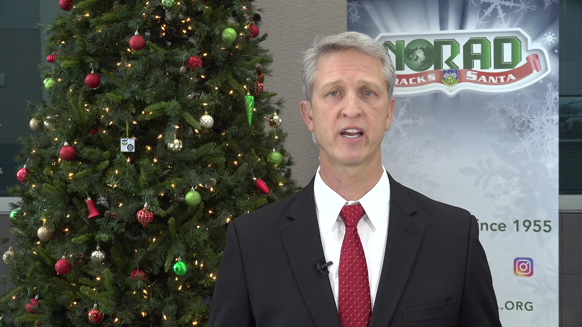 Dvids Video Norad Tracks Santa Interview With Kgan Tv Cedar