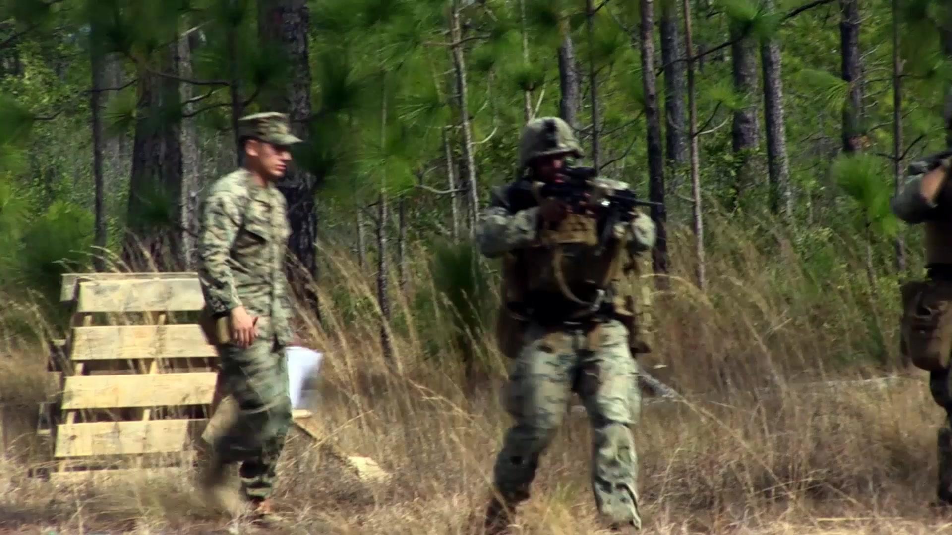 2nd Marine Division Units Division Combat Skills Company
