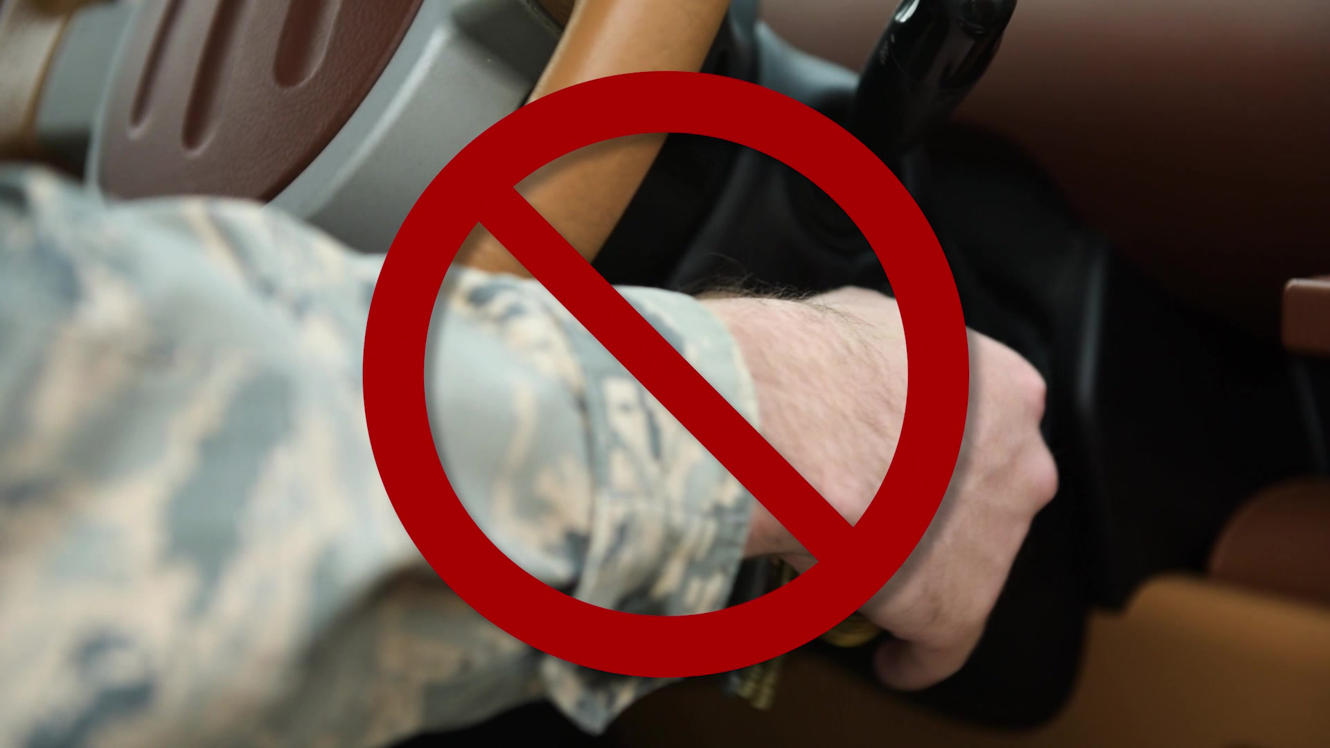 Driving Safety spot reinforces wearing seat belt and securing cell phone.