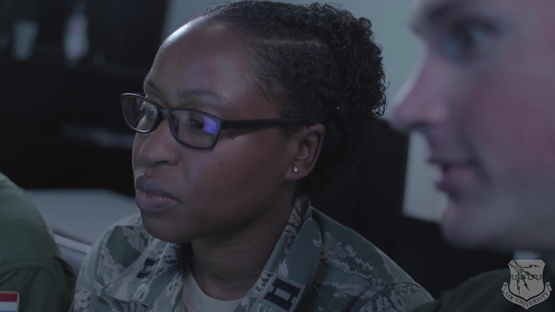 Video encompasses Squadron Officer School programs and highlights attributes such as curriculum relevance, physical / virtual learning environments, faculty development, develop joint leaders and teams, multi-domain command and control, drive innovation and education technology, strengthen our alliances and build partnerships.