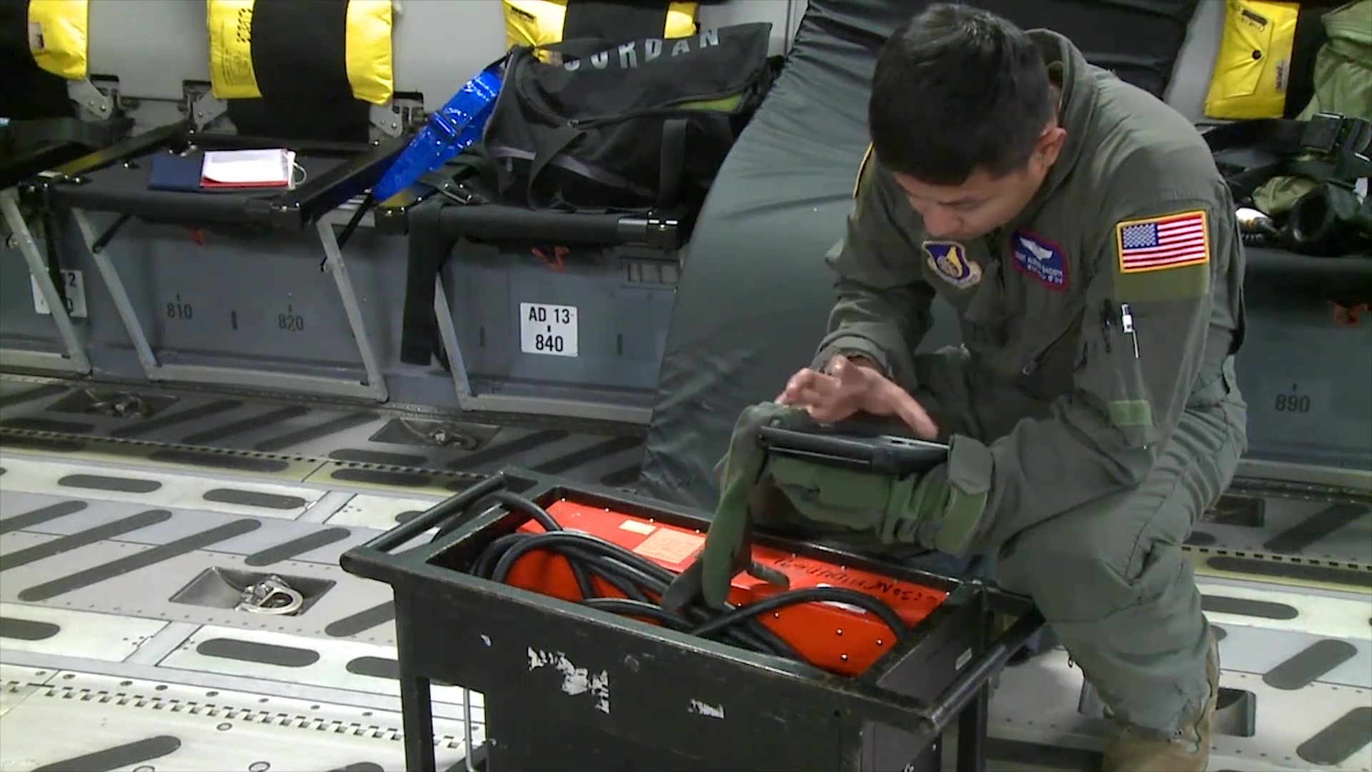Critical Care Air Transport Teams provide specialized care to wounded warriors, that are in critical condition, to ensure they're safely transported to hospitals. 