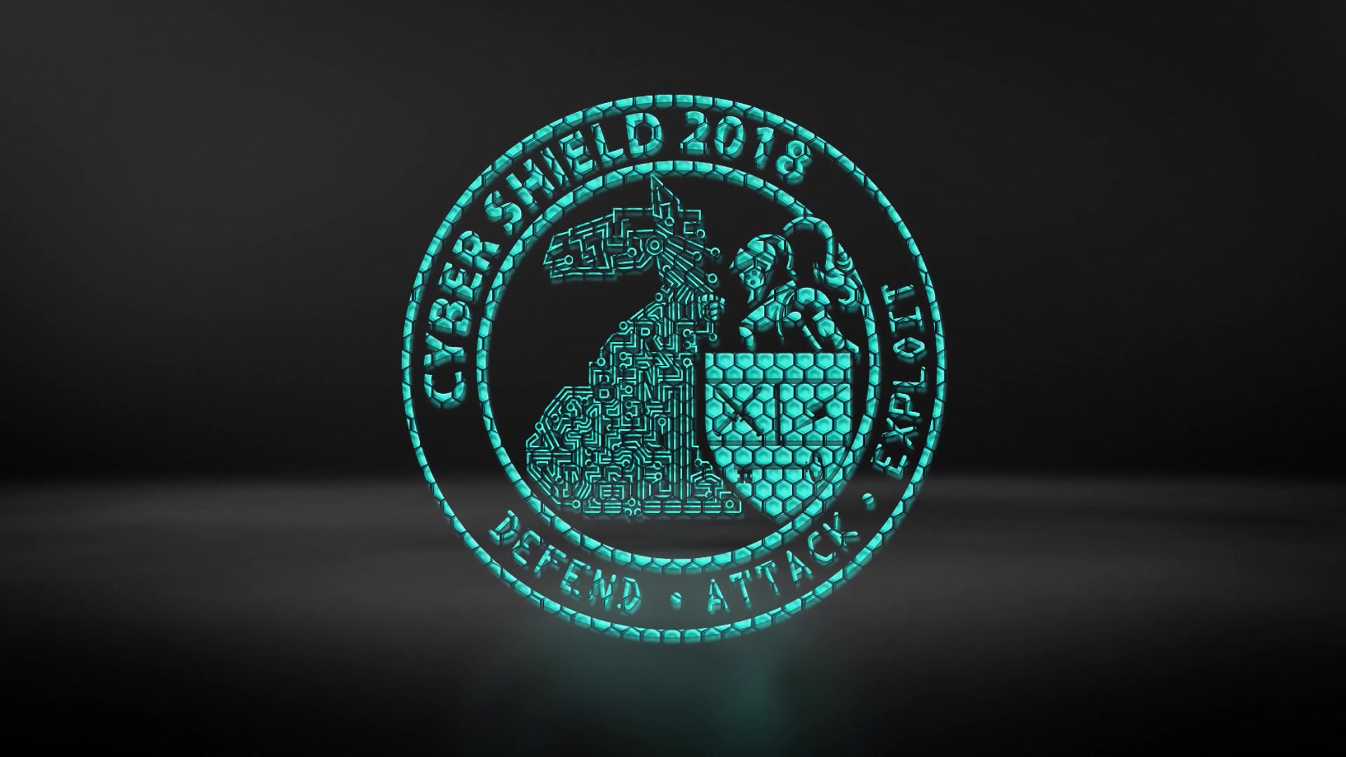 A teaser video for Cyber Shield 18 which reavels the event logo.