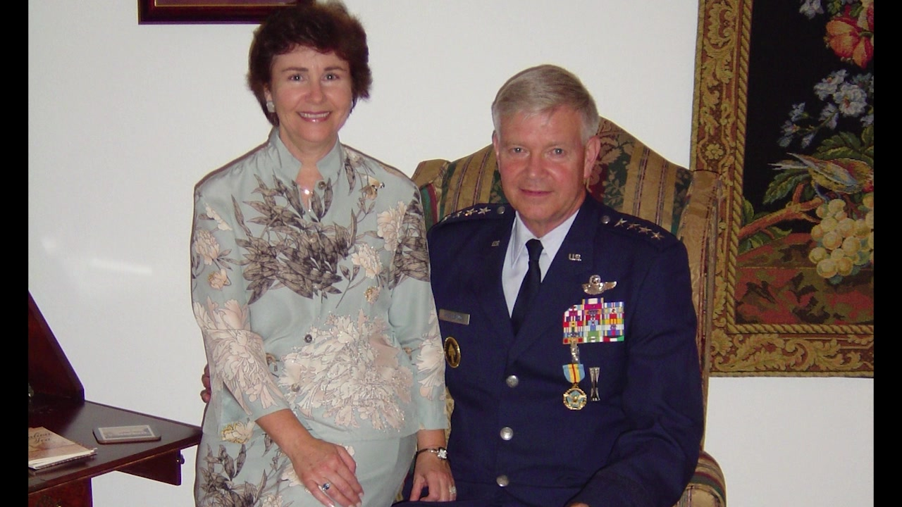 2018 Gathering of Eagles introduction video for Gen (ret) Charles R. Holland.