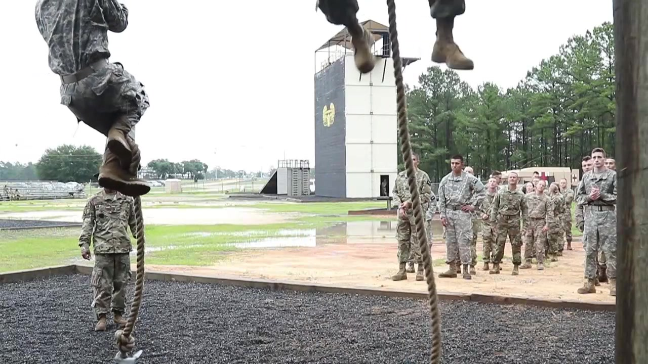 More than 35 competitors competed in the Obstacle Course event today AFTER completing a 12-mile ruck march at the 2018 U.S. Army Reserve Command's Best Warrior Competition in Fort Bragg, North Carolina June 10-15.  The Soldiers our representing seven Geographic Commands and 22 Functional Commands, and our spending the week competing in a variety of challenges including firing weapons, land navigation, the Army Physical Fitness Test, and various mystery events. These challenges will ultimately test their capabilities, combat-readiness, and lethality. (U.S. Army photo by Maj. Michelle Lunato/released)