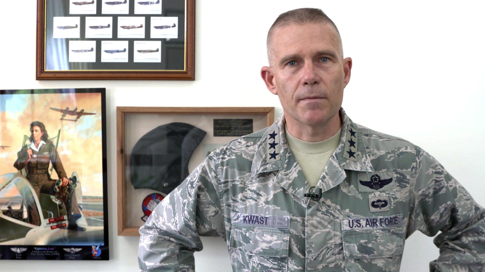 """""""This deep and abiding part of who we are..this compassion for one another, is the glue that binds us together when times are rough.""""   Check out the the 4th & final Commander's Intent video from Lt. Gen. Steve Kwast on behaviors consistent with the art of war & with winning. The topic today: compassion."""
