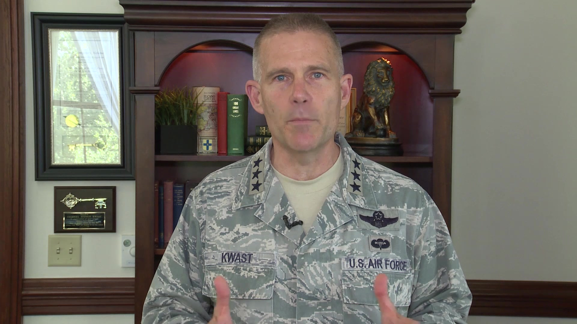 """We are a thinking force…We have to be fast and adaptive in how we respond to an ever-changing strategic environment."" 