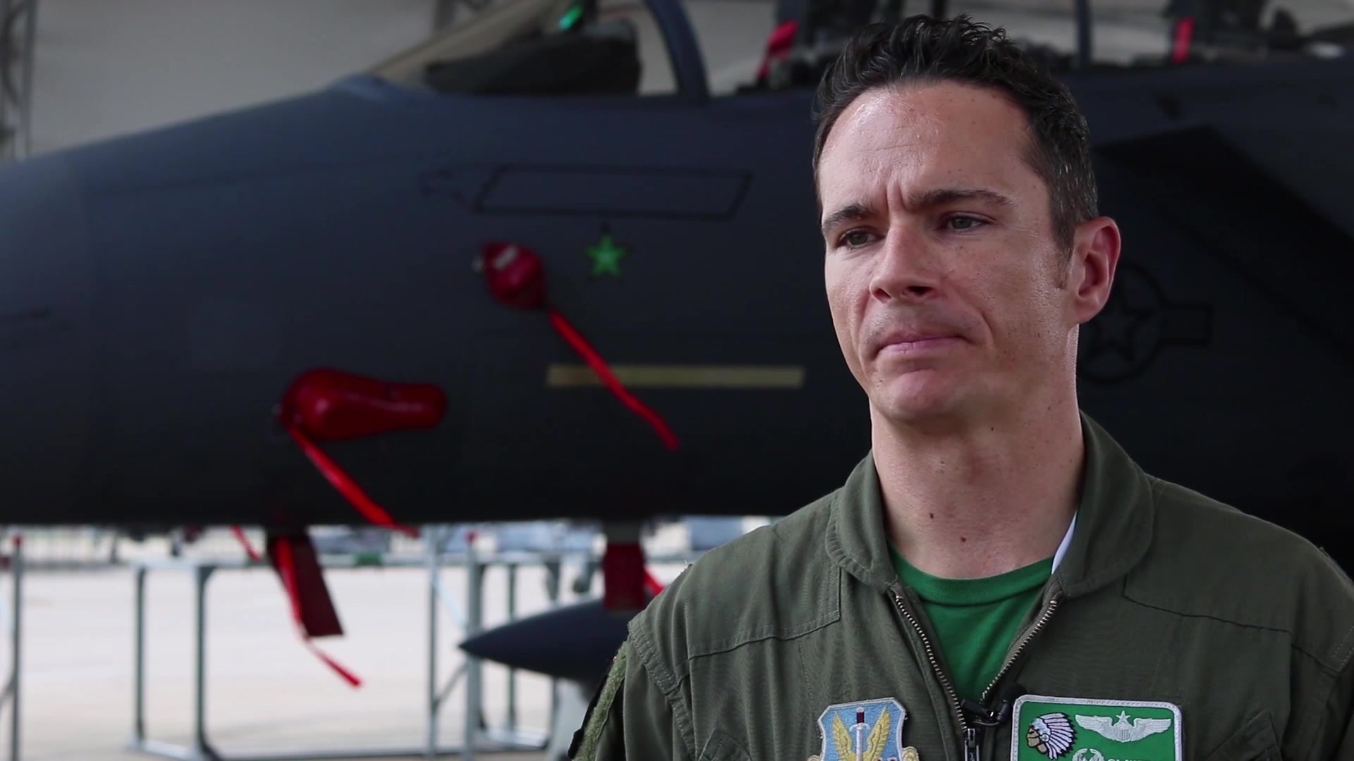 Affectionately named America's Jet, this Strike Eagle (tail 487) earned its title by becoming the first F-15E to have a recorded an air-to-air kill. This video highlights the achievements of tail 487.