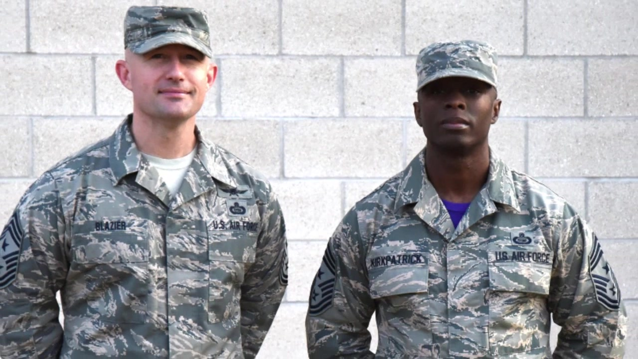 Two Wingmen have risen up in rank from Airmen to Command Chiefs in the field of Intelligence, Surveillance, and Reconnaissance.  Chief Master Sergeants Stefan Blazier and Lavor Kirkpatrick have helped push each other to be the best Airmen they can be all throughout their careers.  Their story is a great example of the concept of wingmanship the Air Force emphasizes.