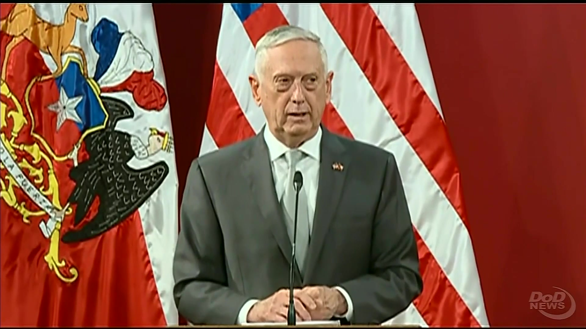 Us southern command official website us chile continue to build partnership mattis says ccuart Choice Image