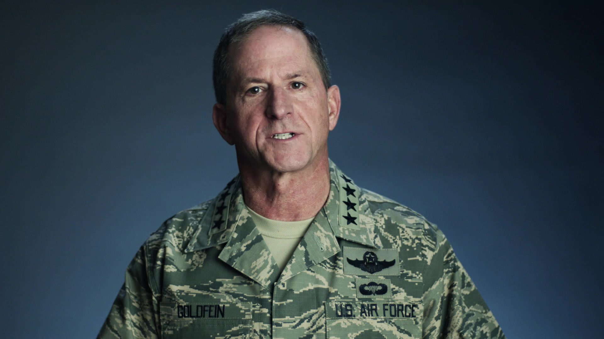 Gen. David Goldfein, Air Force Chief of Staff, discusses the Profession of Arms Center of Excellence's Enhancing Human Capital presentation and how it will inspire you to bring out the best version of yourself.