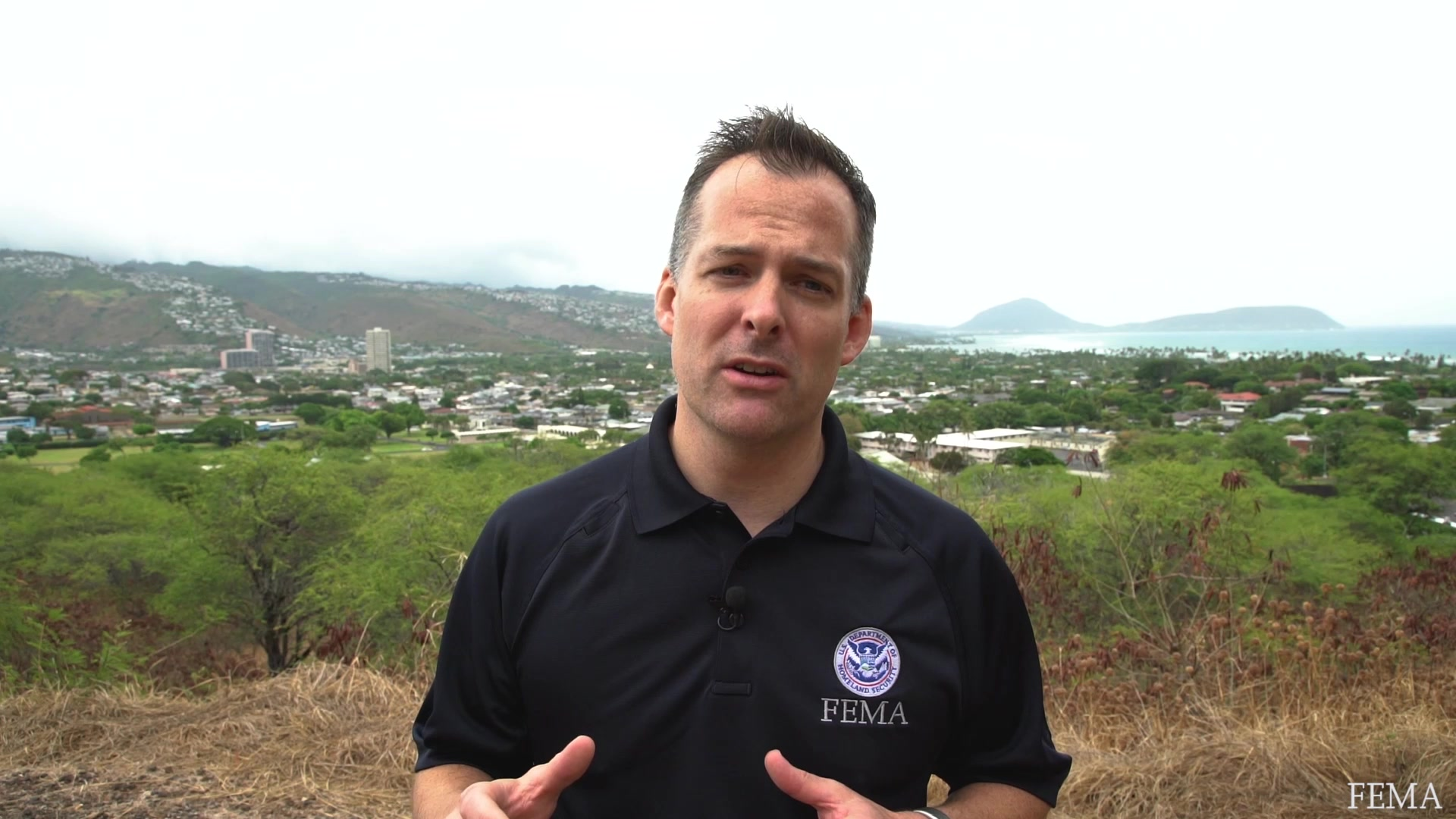 FEMA Public Affairs Director Mark Peterson gives preparedness tips ahead of Hurricane Lane. Listen to local officials and be prepared. For more information visit Ready.gov.