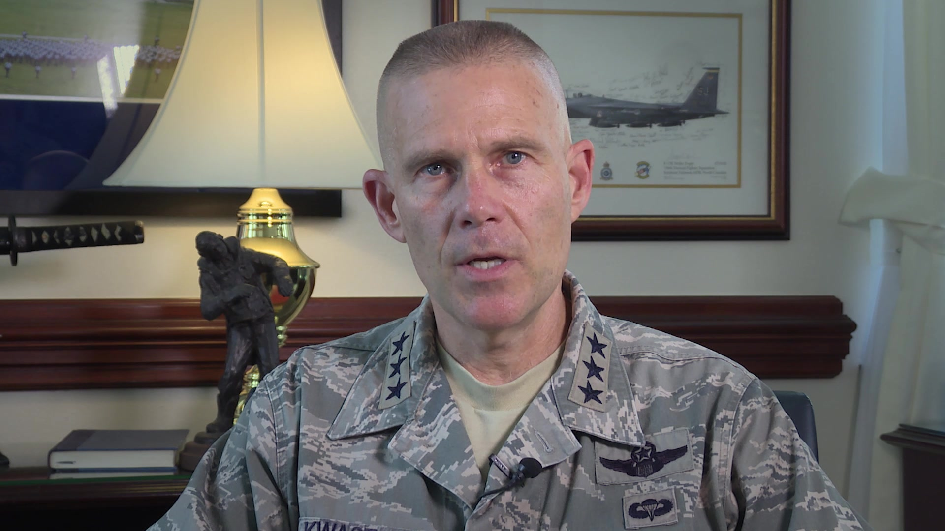 Changing Paradigms... Time is no longer a constant   Check out the latest Commander's Intent video from Lt. Gen. Steve Kwast where he discusses the importance of communicating with purpose.