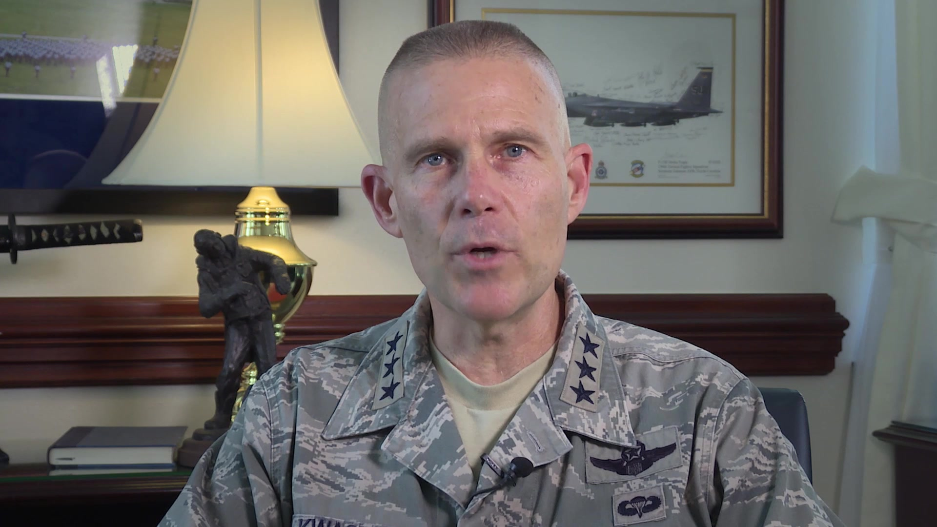 Changing Paradigms... Give control to the student of what they learn, when they learn it, how they learn it...    Check out the latest Commander's Intent video from Lt. Gen. Steve Kwast where he discusses the importance of communicating with purpose.