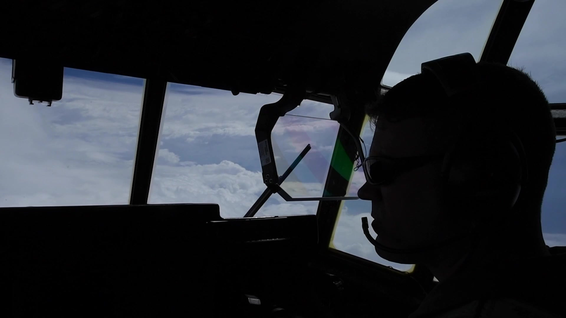 The Air Force Reserve Hurricane Hunters flew Hurricane Florence providing forecasters at the National Hurricane Center life-saving storm data. Flying in the heart of Mother's Nature's fury, the WC-130J Super Hercules and its Reserve Citizen Airmen aircrew collect atmospheric data and transmit via satellite to forecasters. The Air Force Reserve has the only operational weather reconnaissance squadron in the world, dating it's history to 1943. (U.S. Air Force video by Tech. Sgt. Chris Hibben)