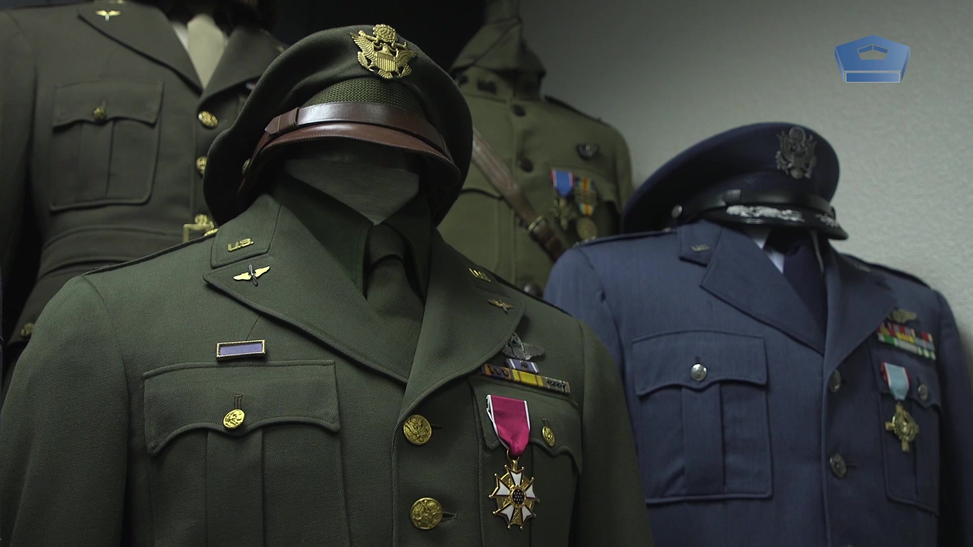 Col. Kyle Clement wears the Air Force uniform, but he's got a not-so-secret stash of uniforms he's been collecting for years. Some date all the way back to the first World War.