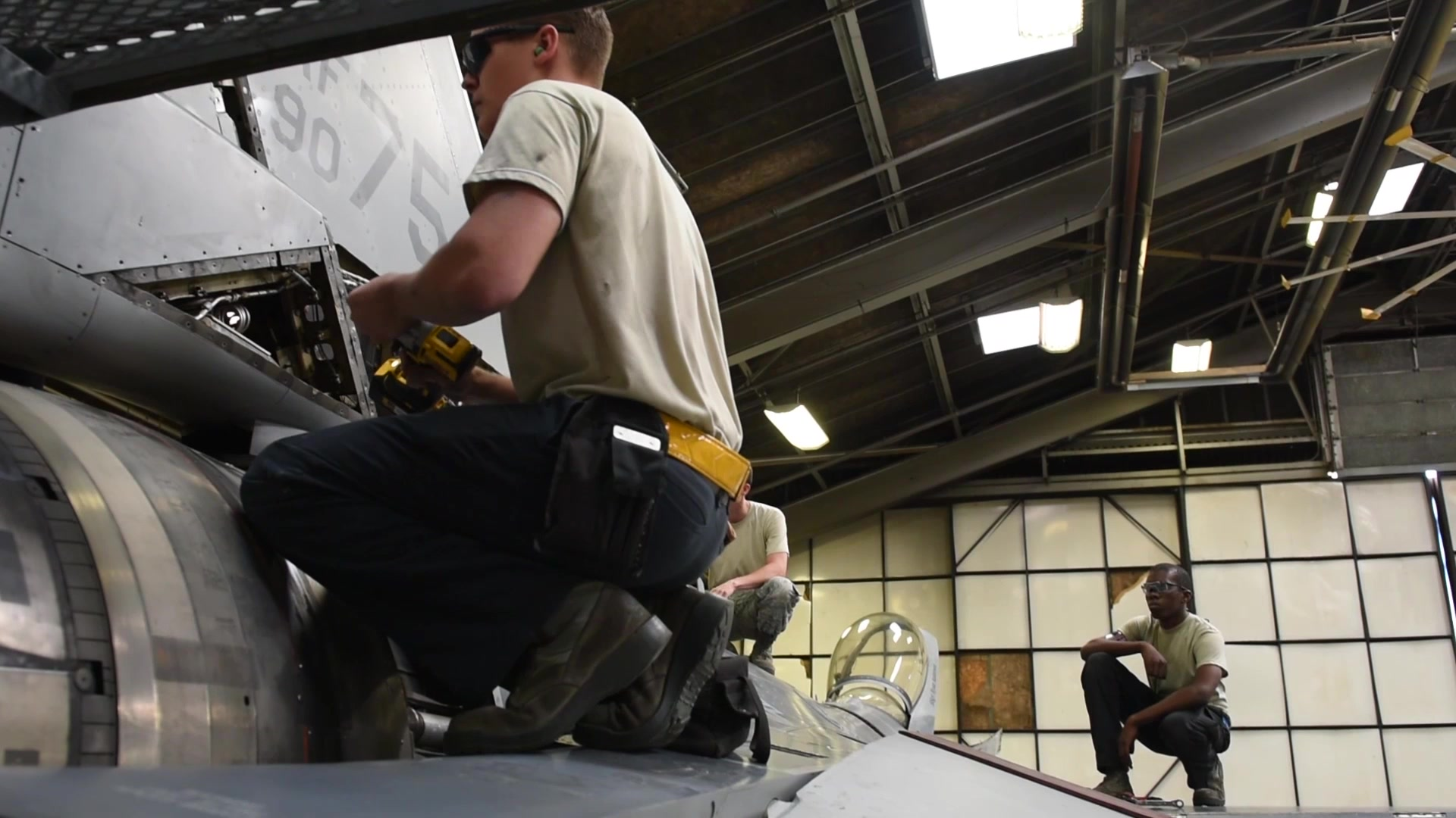 Highlight video of the Airmen working hard in the 56th EMS Fabrication Flight at Luke Air Force Base, Arizona.
