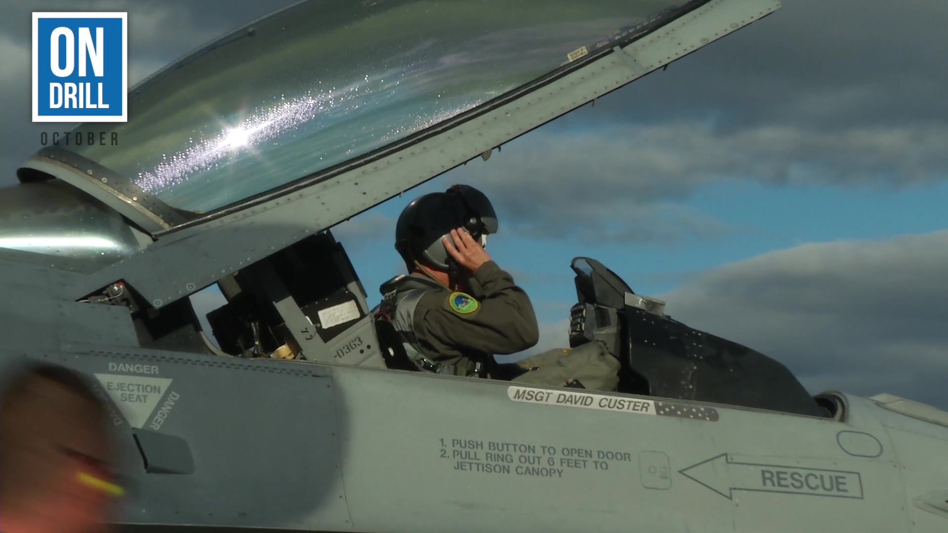 """Check out the October edition of our news series called """"On Drill."""" It provides highlights of what the 158th Fighter Wing, Vermont Air National Guard accomplished over a drill weekend."""