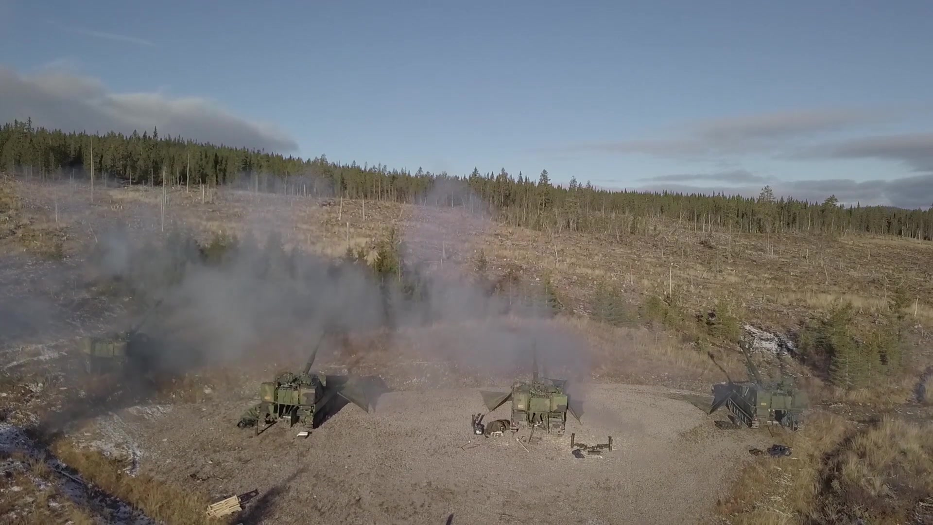 Norwegian and Danish Forces • Artillery Live Fire
