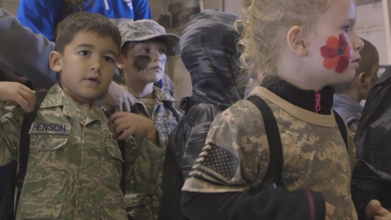 Goodfellow hosted Operation KIDS to show children what it's like for parents in the military through a mock deployment. A1C Matthew Angulo reports from the Louis F Garland Fire Academy.