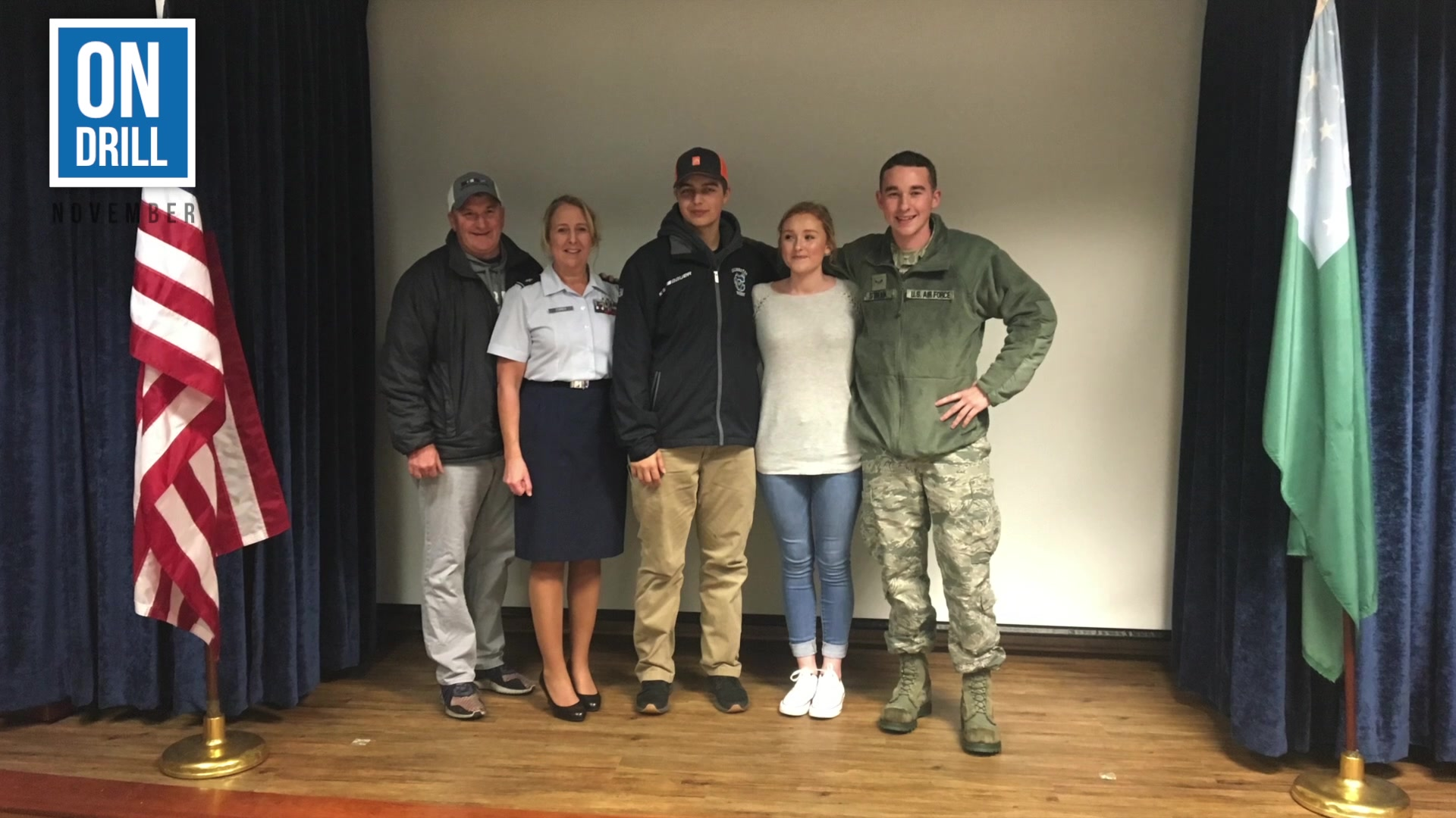 """Check out the November edition of our news series called """"On Drill."""" It provides highlights of what the 158th Fighter Wing, Vermont Air National Guard accomplished over a drill weekend."""