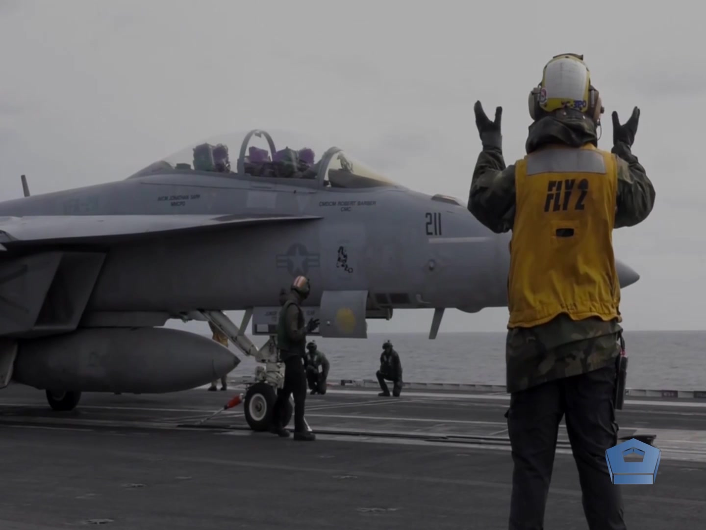 Flight deck operations on an aircraft carrier have often been compared to a ballet. Watch the choreography needed to launch and recover aircraft and supplies aboard the USS Harry S. Truman. The Truman can carry about 90 aircraft and has a 4.5-acre flight deck. Four elevators move aircraft between the flight deck and the hangar bay.