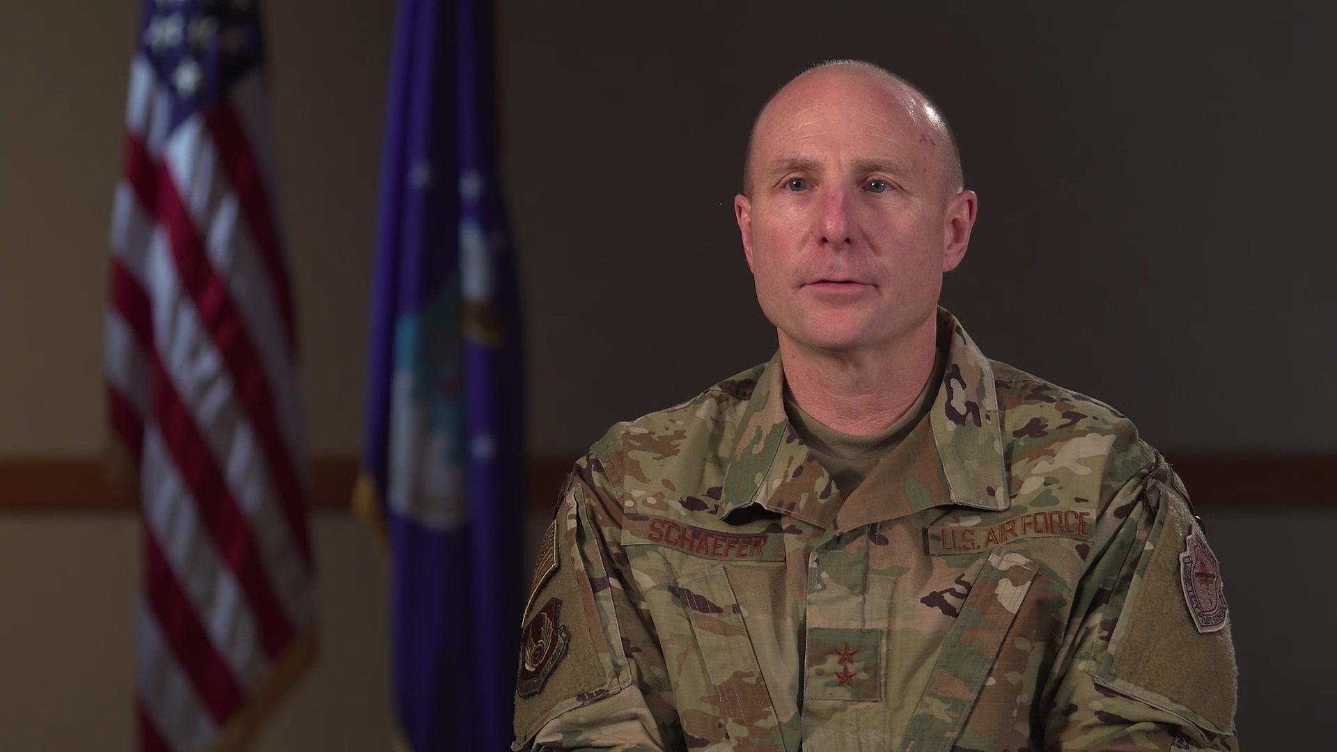 Maj. Gen. Carl Schaefer, Deputy Commander, Air Force Materiel Command, Wright-Patterson Air Force Base, Ohio