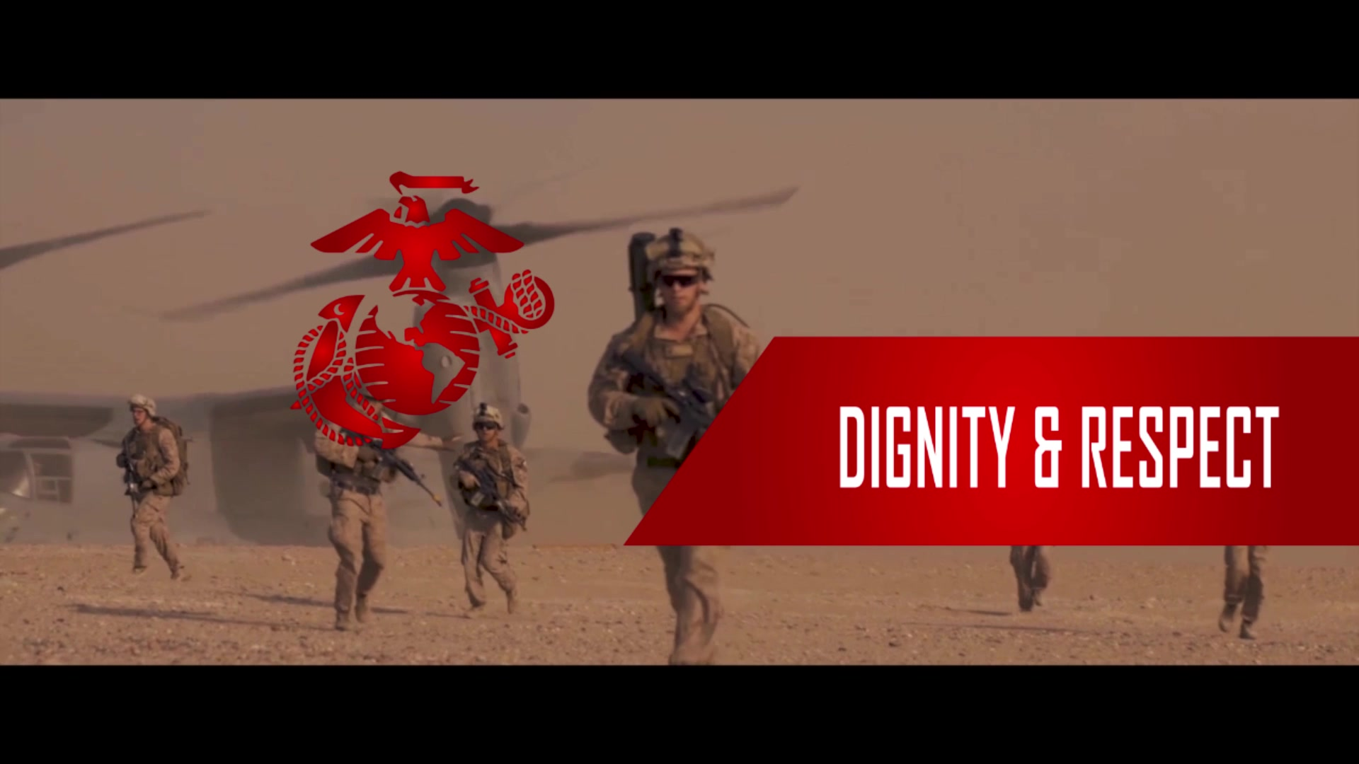 """Lt. Gen. Robert F. Hedelund, commanding general, II Marine Expeditionary Force, explains dignity and respect with II MEF. """"Do unto others as you would have them do unto you,"""" he said. """"Showing dignity and respect for our fellow Marines and Sailors is what matters to us."""" (U.S. Marine Corps video by Sgt. Matthew Callahan)"""