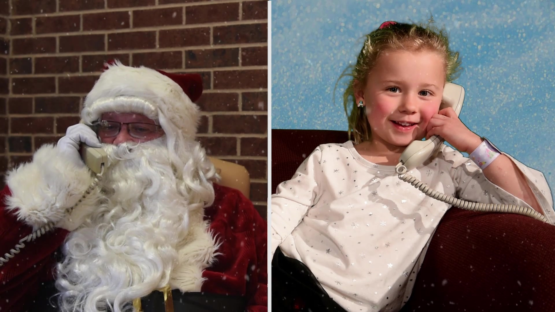 Children in the San Angelo Community can call 325-654-NOEL Dec. 3rd to Dec. 21st from 1700-1900 and talk to Santa, Mrs. Claus, or his elves and tell them their Christmas wish.