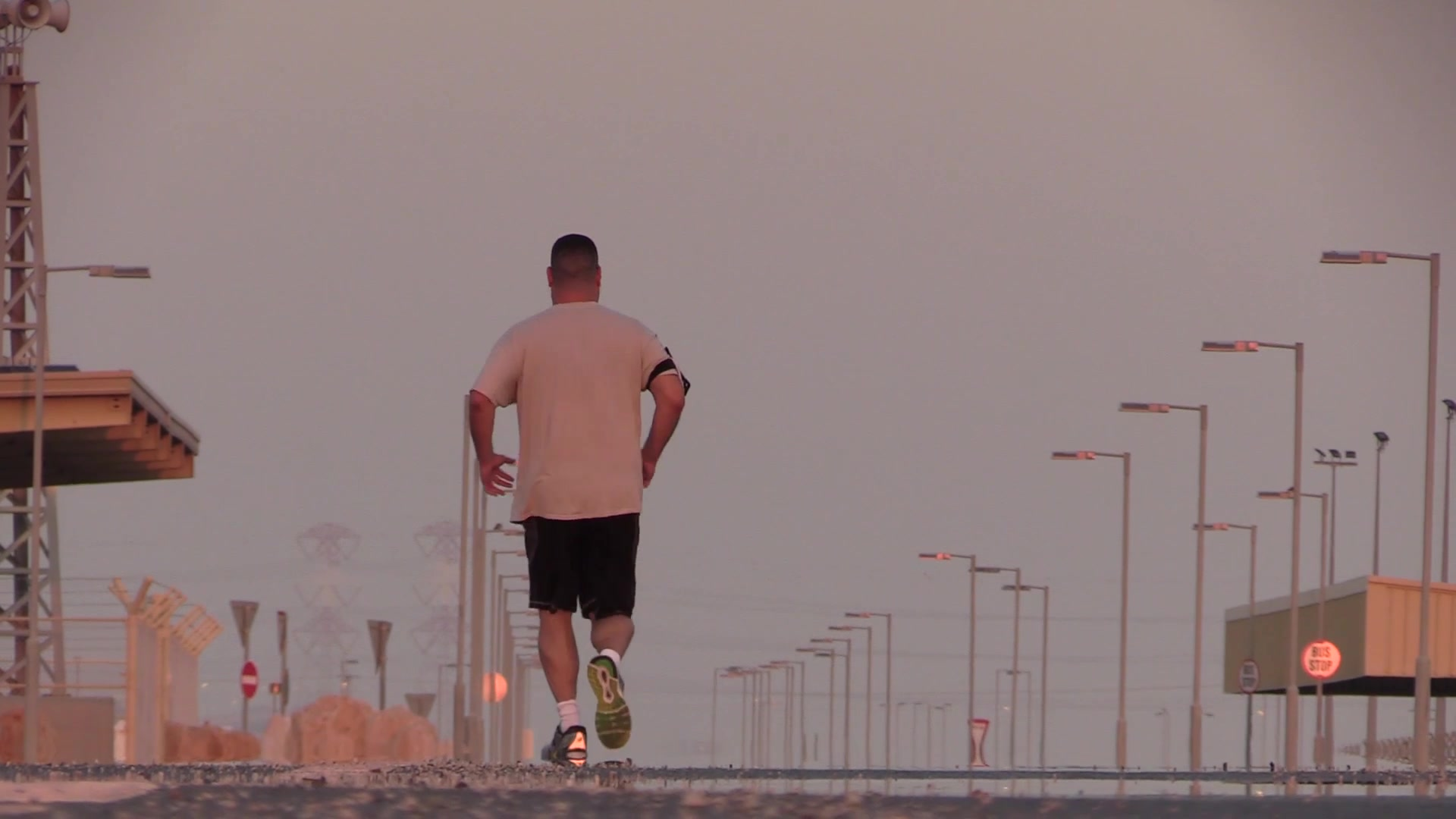 Chaplain (Maj.) Jack Miller, 379th Air Expeditionary Wing chaplain,  was diagnosed with adrenal cancer in 2012 and told by doctors that he would never run long distances again. While deployed at Al Udeid, Miller trained for months and was able to complete the base's Veterans Day 5K run Nov. 11, 2018.