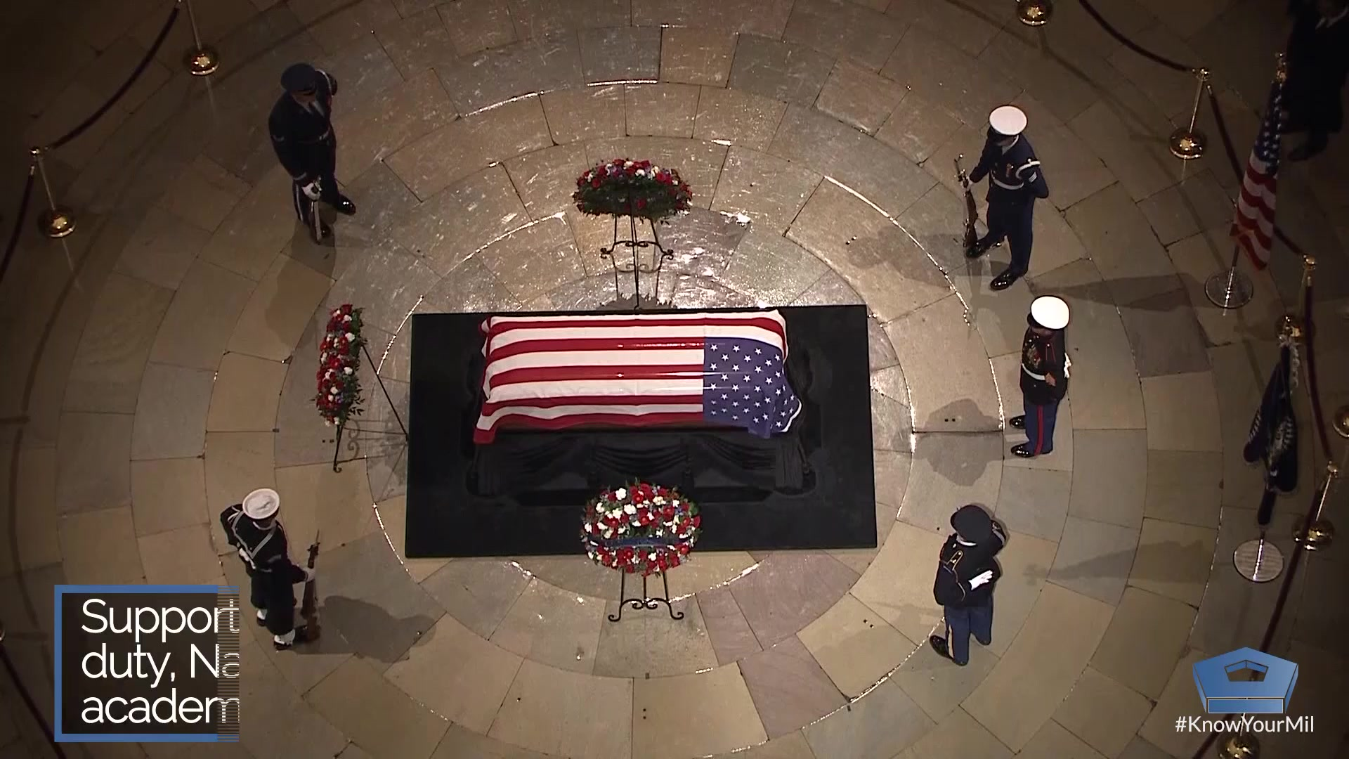 Funeral for former President George H.W. Bush.
