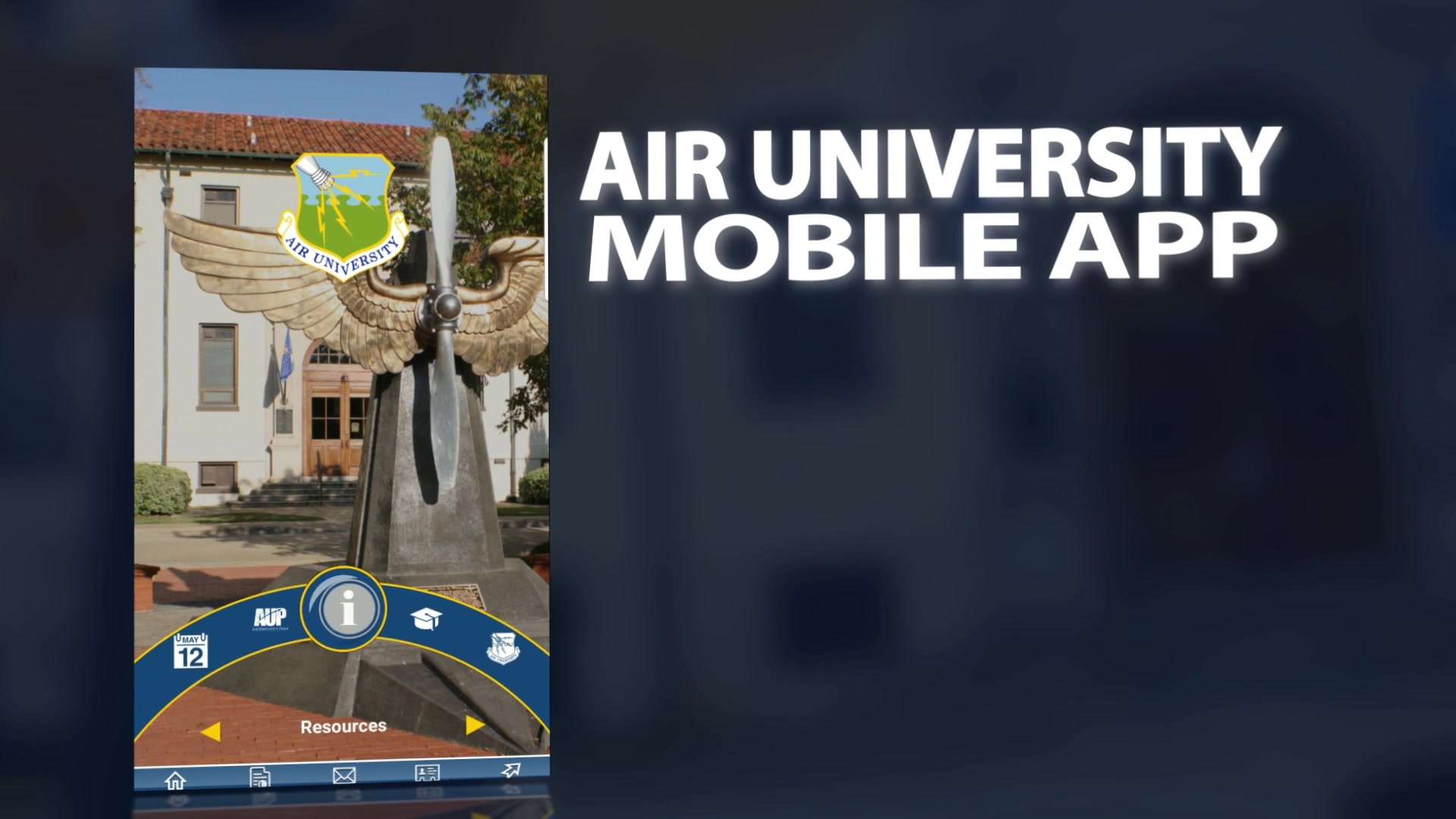 Air University Mobile Application Advertisement