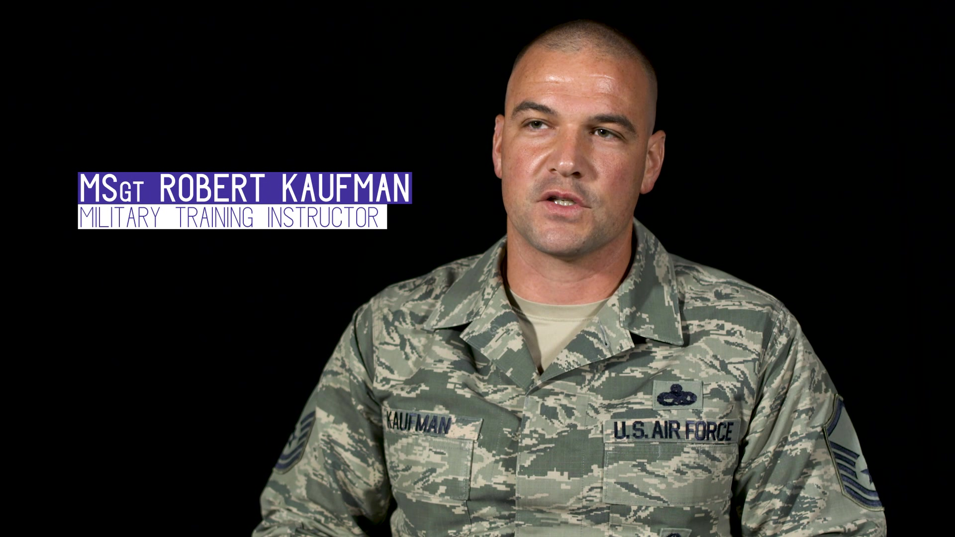 MSgt Robert Kaufman tells us about the changes being made to Air Force Basic Military Training.