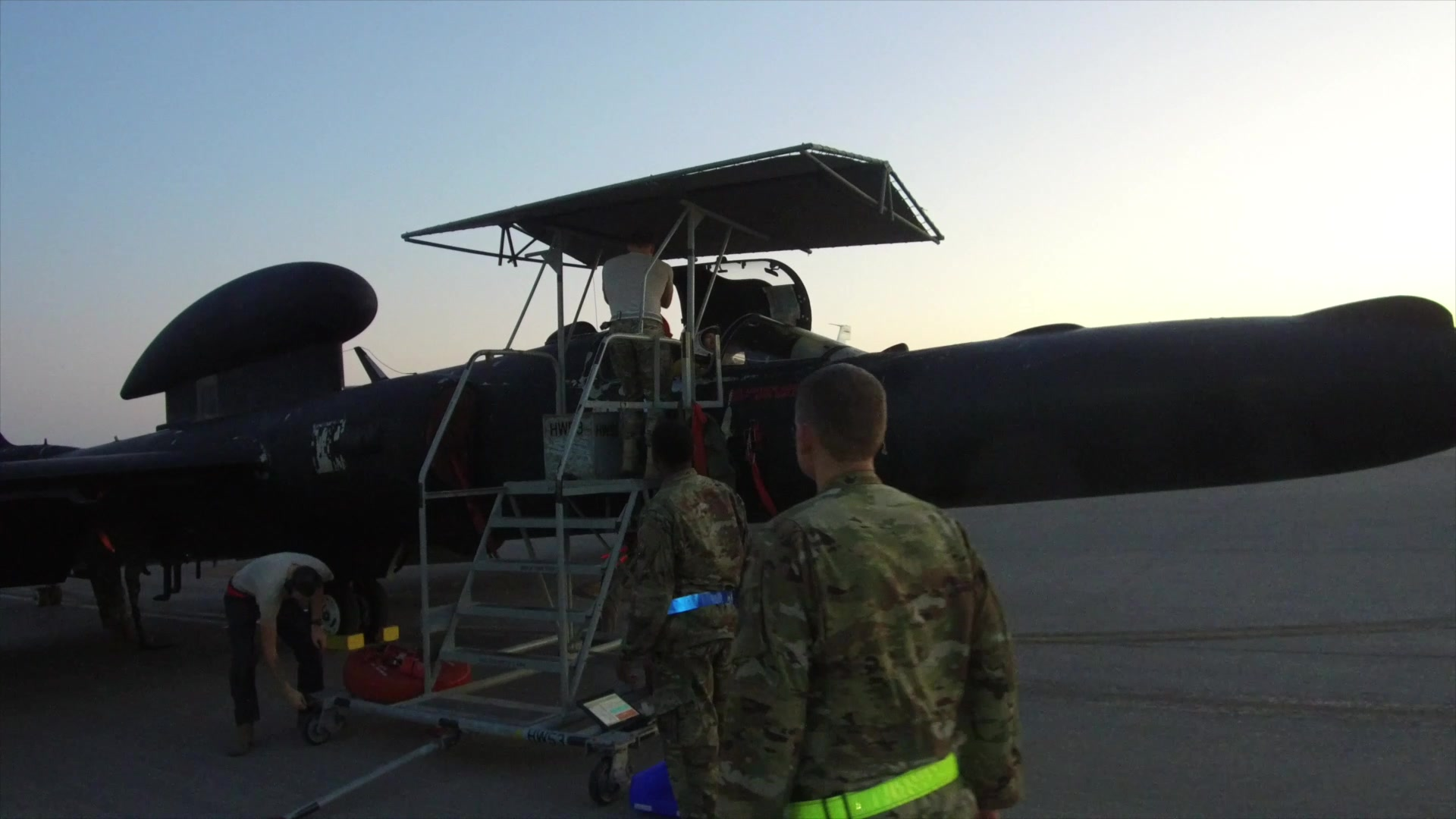 The 380th Expeditionary Maintenance Group is responsible for the maintenance and upkeep of all aircraft at Al Dhafra Air Base. The dedication, expertise and fortitude of 380th EMXG personnel allows our aircraft to continue their duties across the AOR, and continue to Make the Mission Happen.