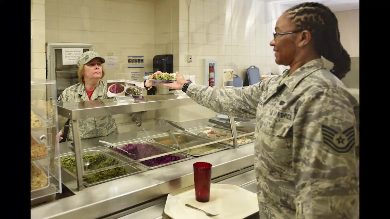 Members of the Services group within the 145th Airlift Wing have partnered with a local charity to donate leftover food from drill weekends.
