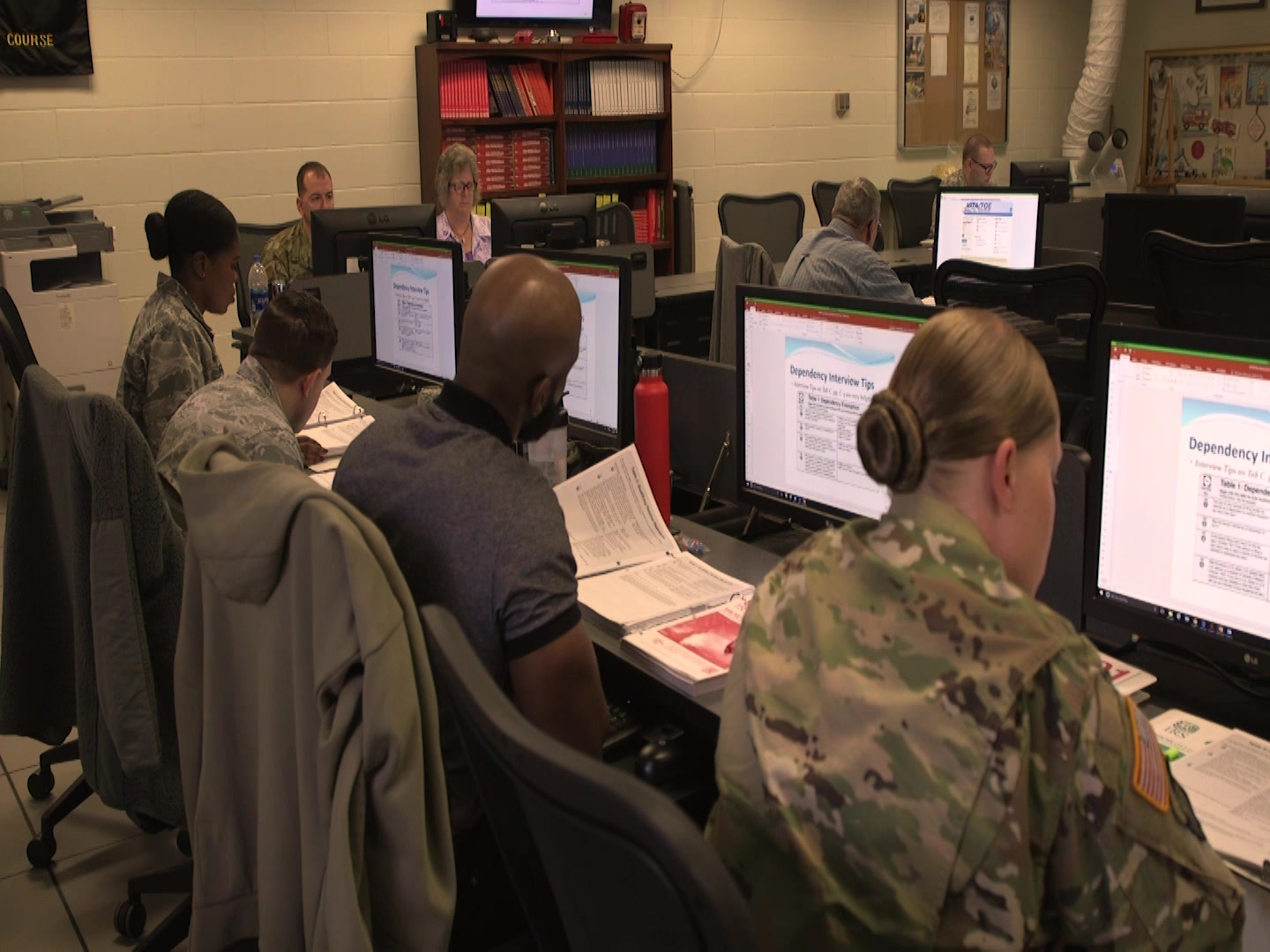 Airmen can get help filing their taxes.  Gary Jenkins reports on how the military can take advantage of all their tax breaks.