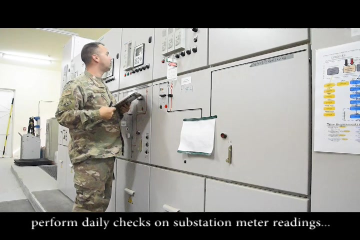 Whether it's for a group of crew chiefs performing pre-flight checks in a hangar or for Security Forces Airmen patrolling the base at night, there needs to be light.  The 380th Expeditionary Civil Engineer Squadron electrical systems shop are the ones in charge of making that happen.