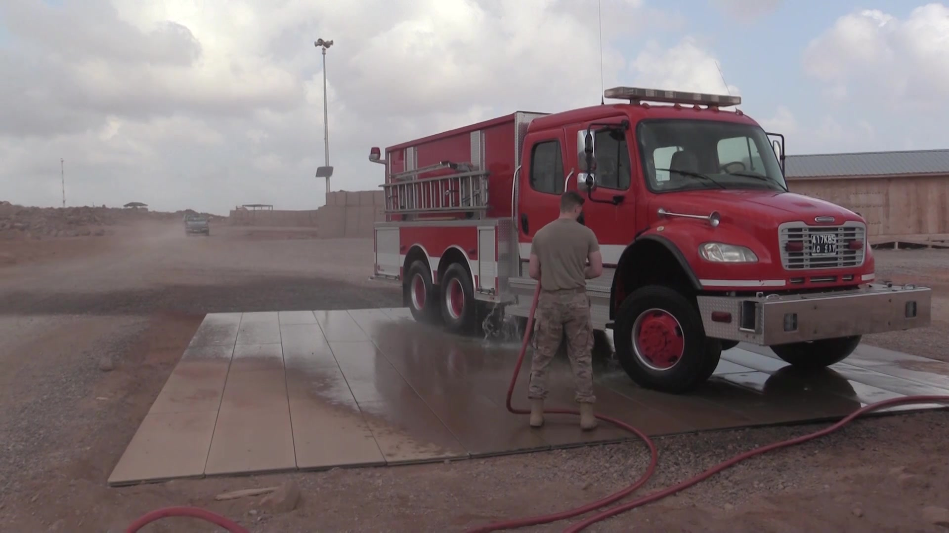 870TH AES Fire Department Expands Arsenal