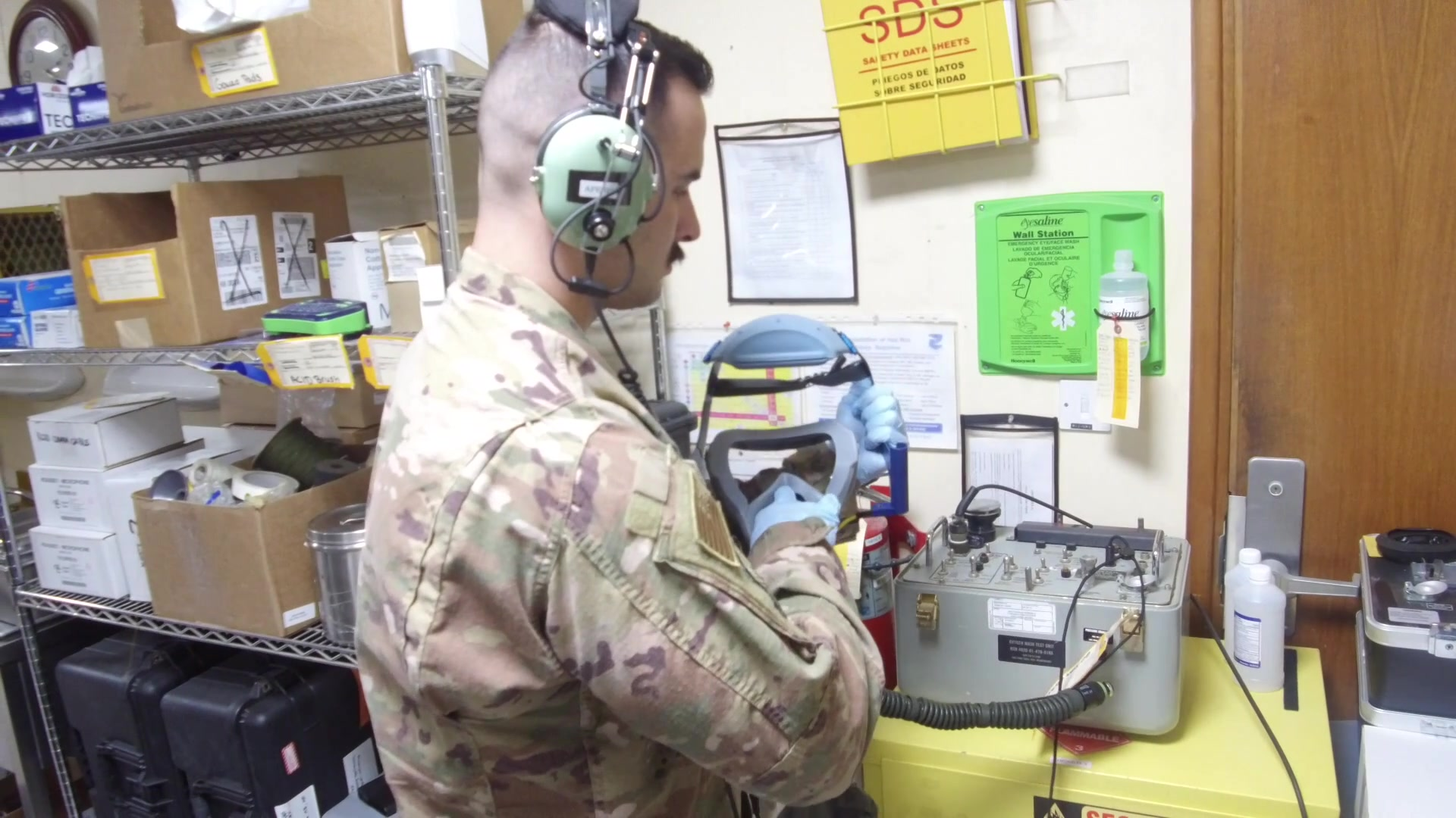 Aircrew Flight Equipment supplies the lifesaving equipment that ensures aircrew can continue with the mission in case of an in-flight emergency.